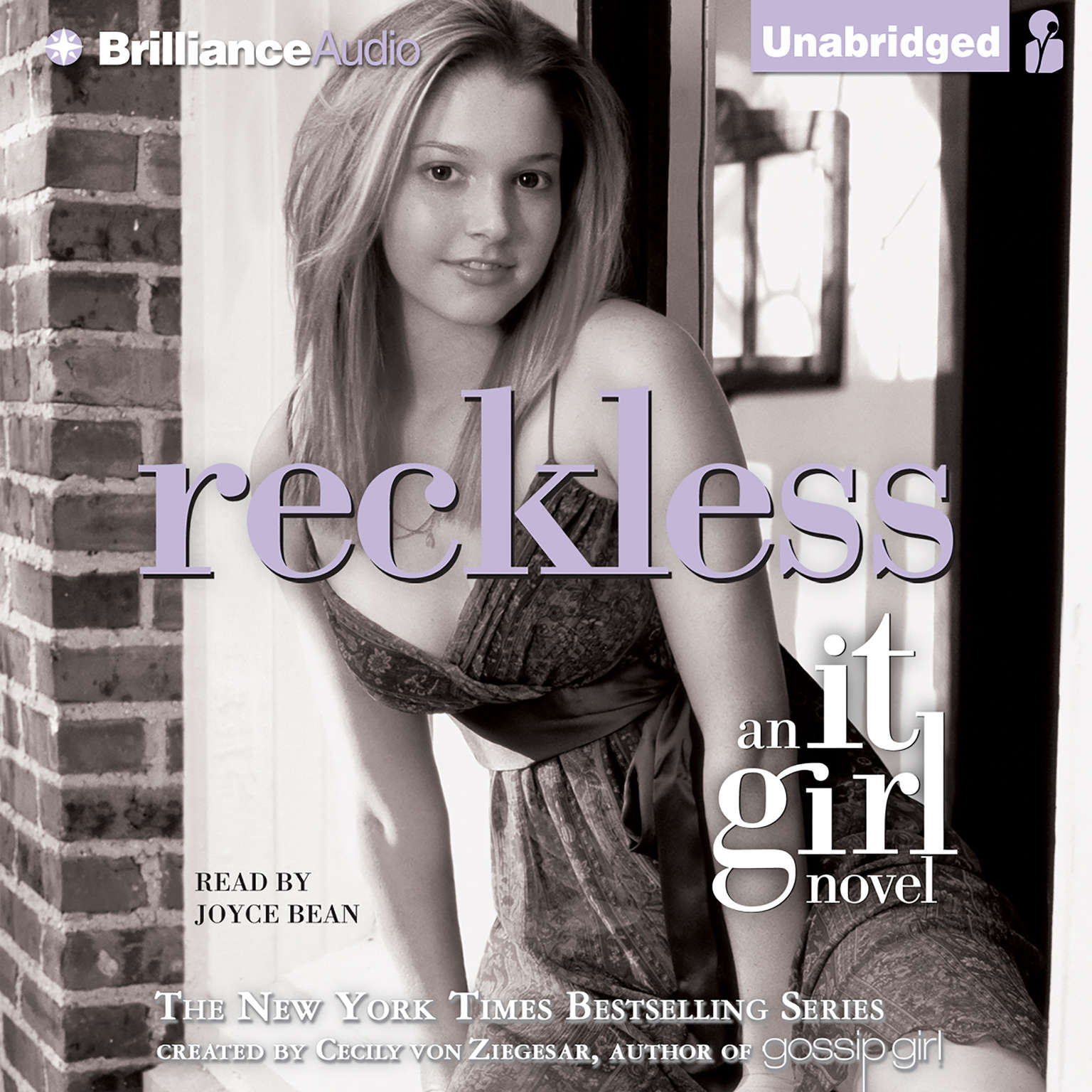 Printable Reckless: An It Girl Novel Audiobook Cover Art