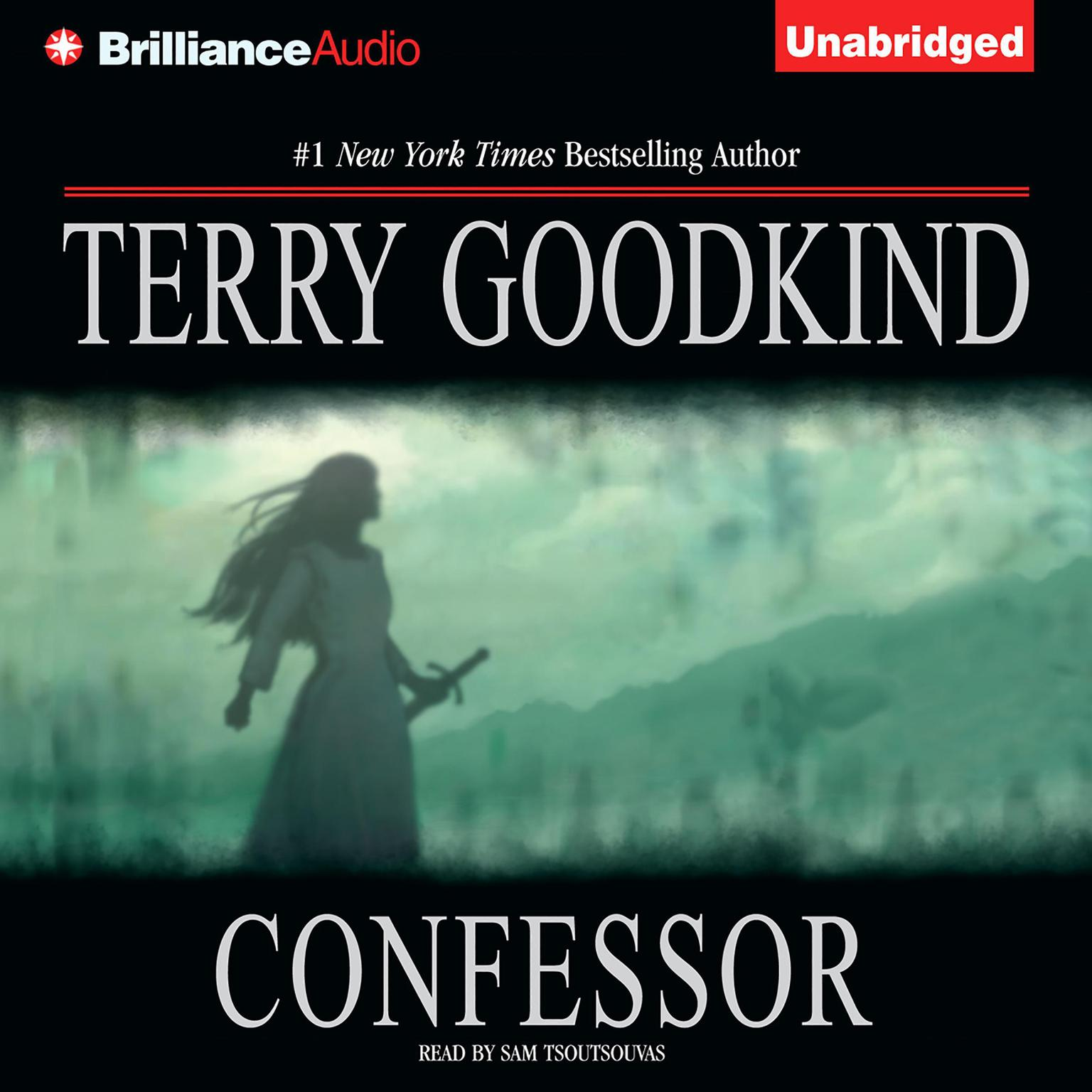 Printable Confessor Audiobook Cover Art