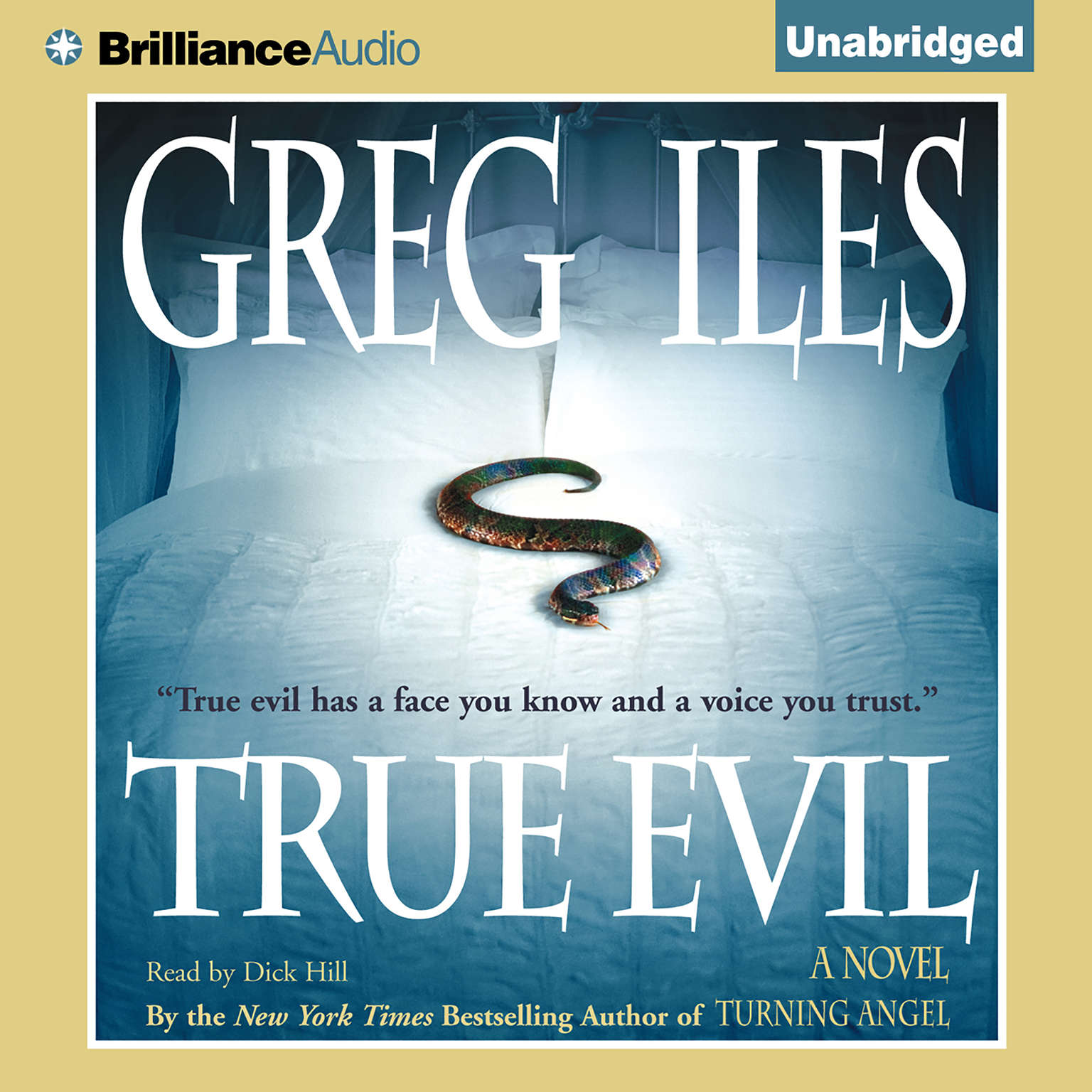 Printable True Evil Audiobook Cover Art