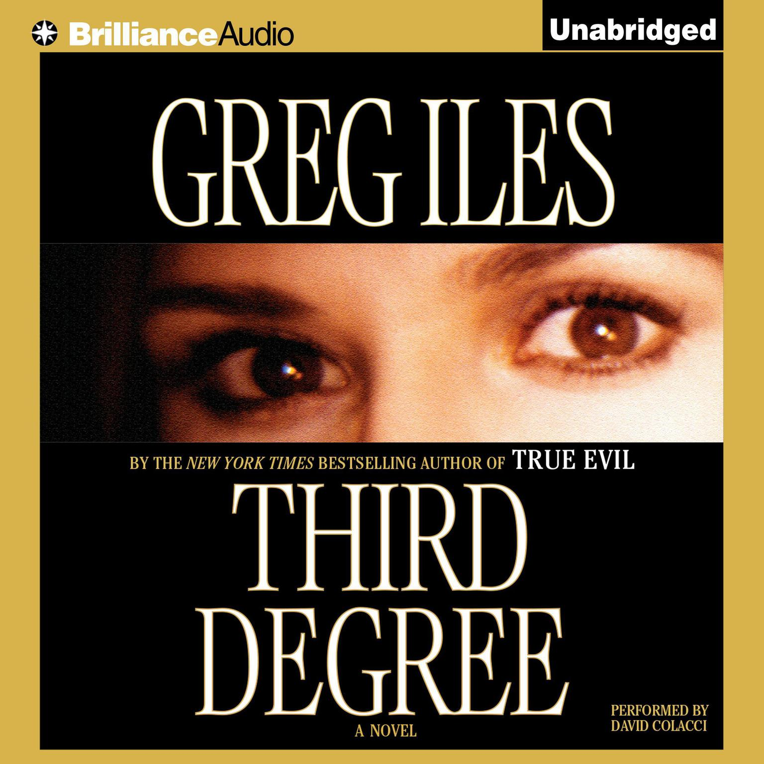 Printable Third Degree Audiobook Cover Art