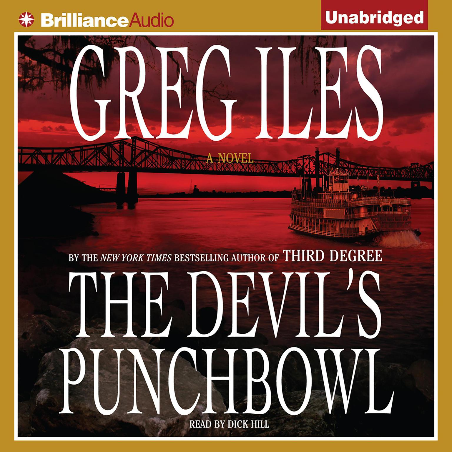Printable The Devil's Punchbowl Audiobook Cover Art
