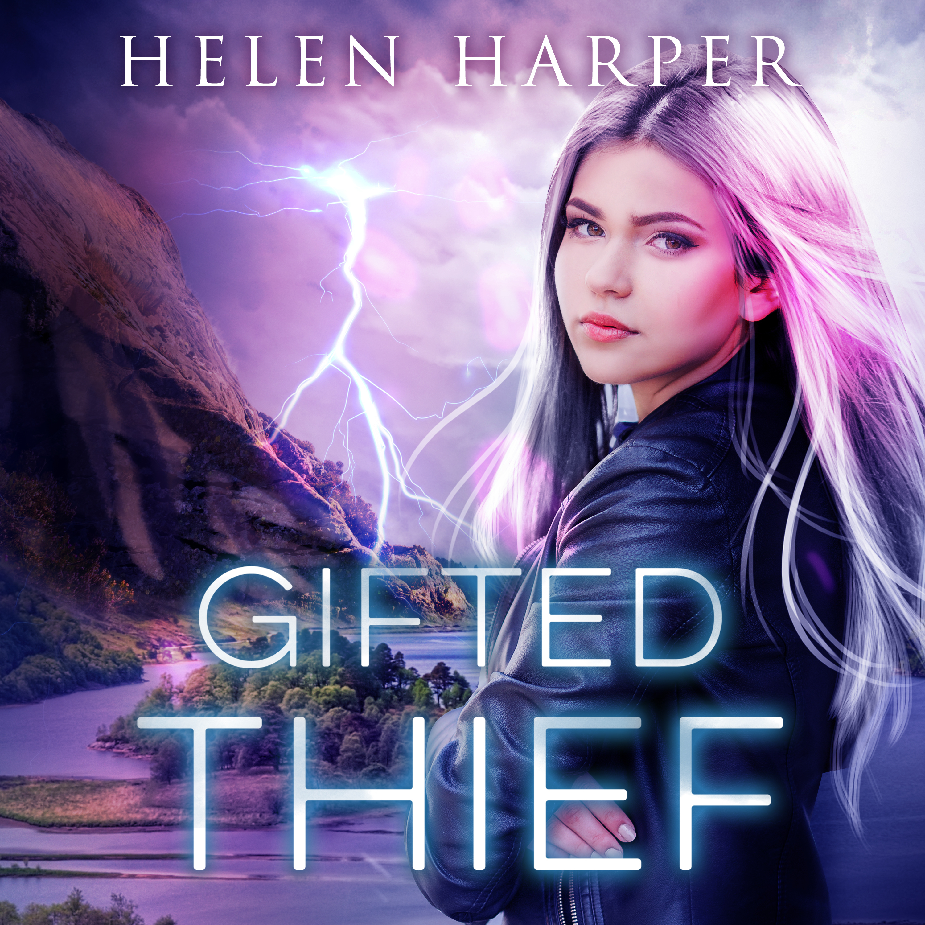 Printable Gifted Thief Audiobook Cover Art