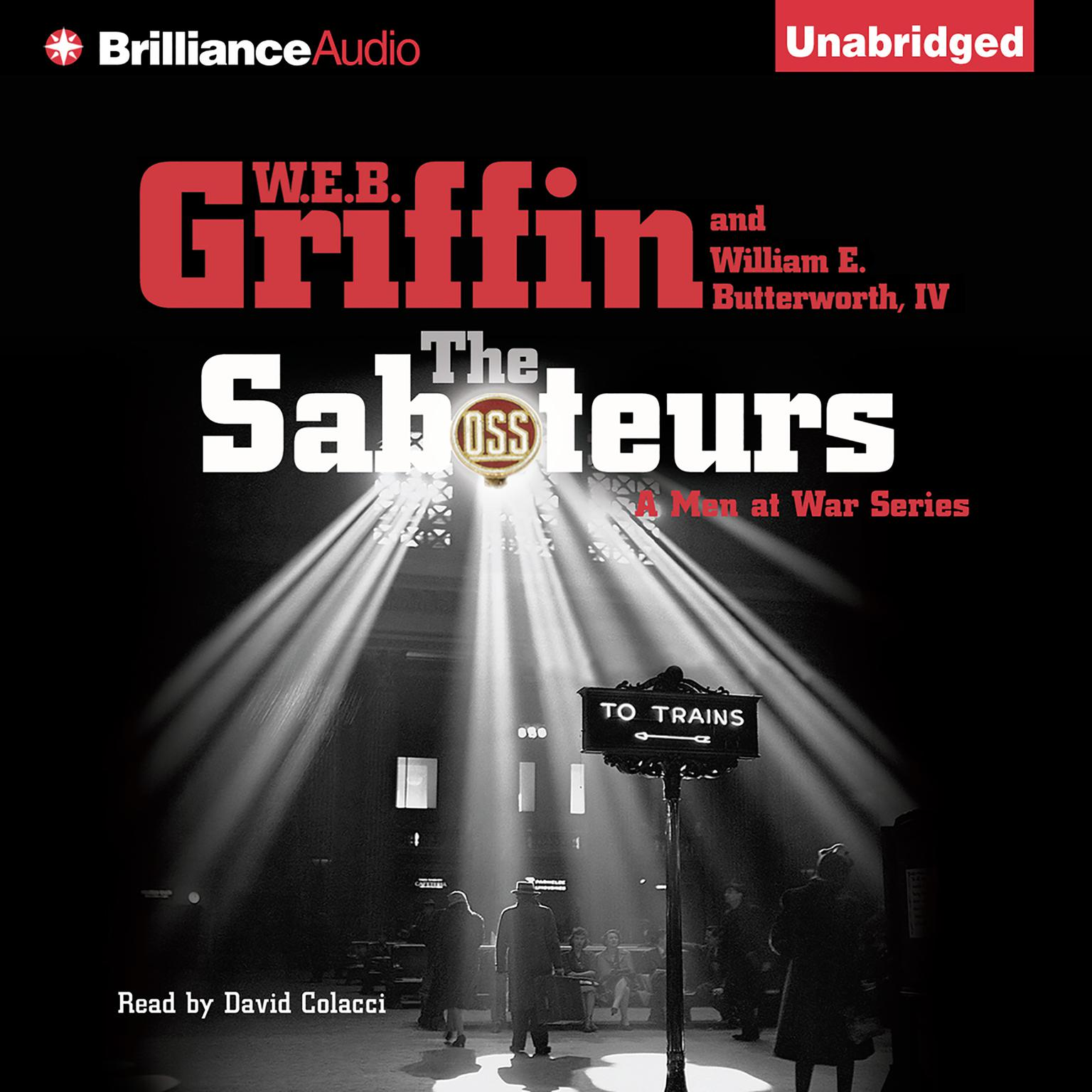 Printable The Saboteurs Audiobook Cover Art