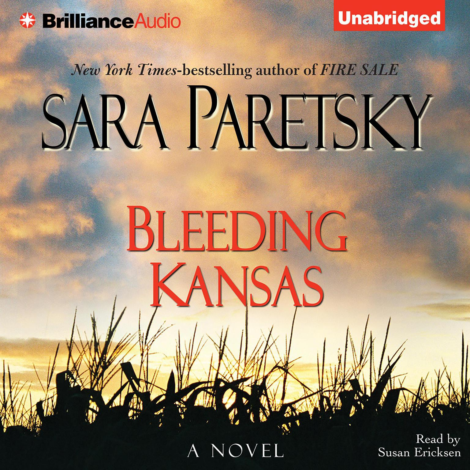 Printable Bleeding Kansas Audiobook Cover Art