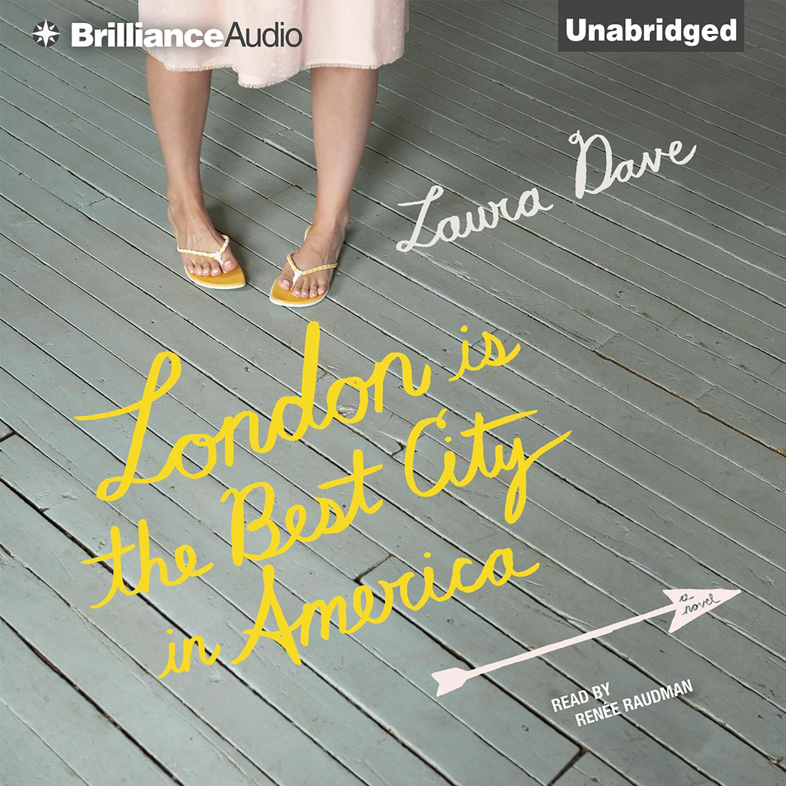 Printable London Is the Best City in America: A Novel Audiobook Cover Art