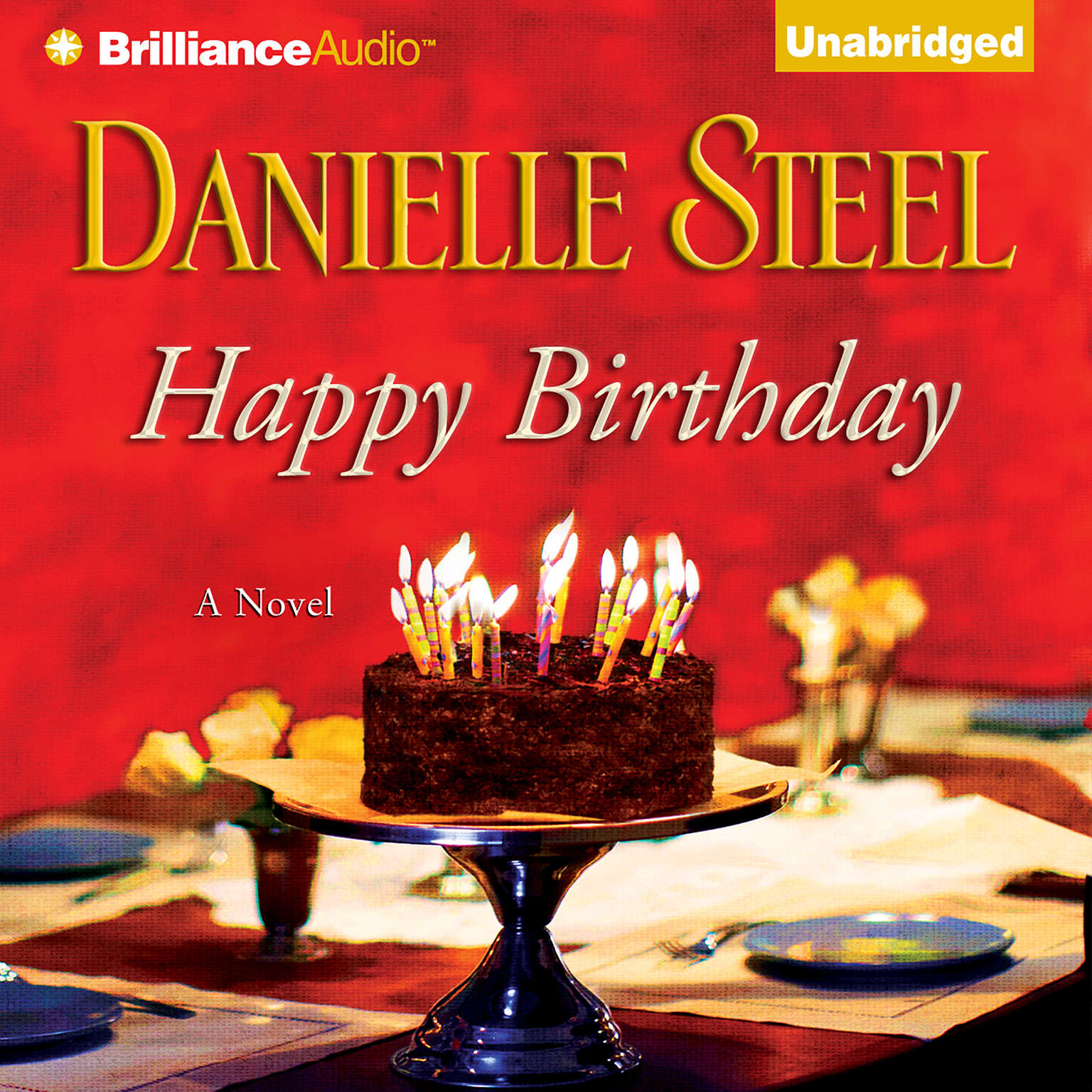 Printable Happy Birthday Audiobook Cover Art
