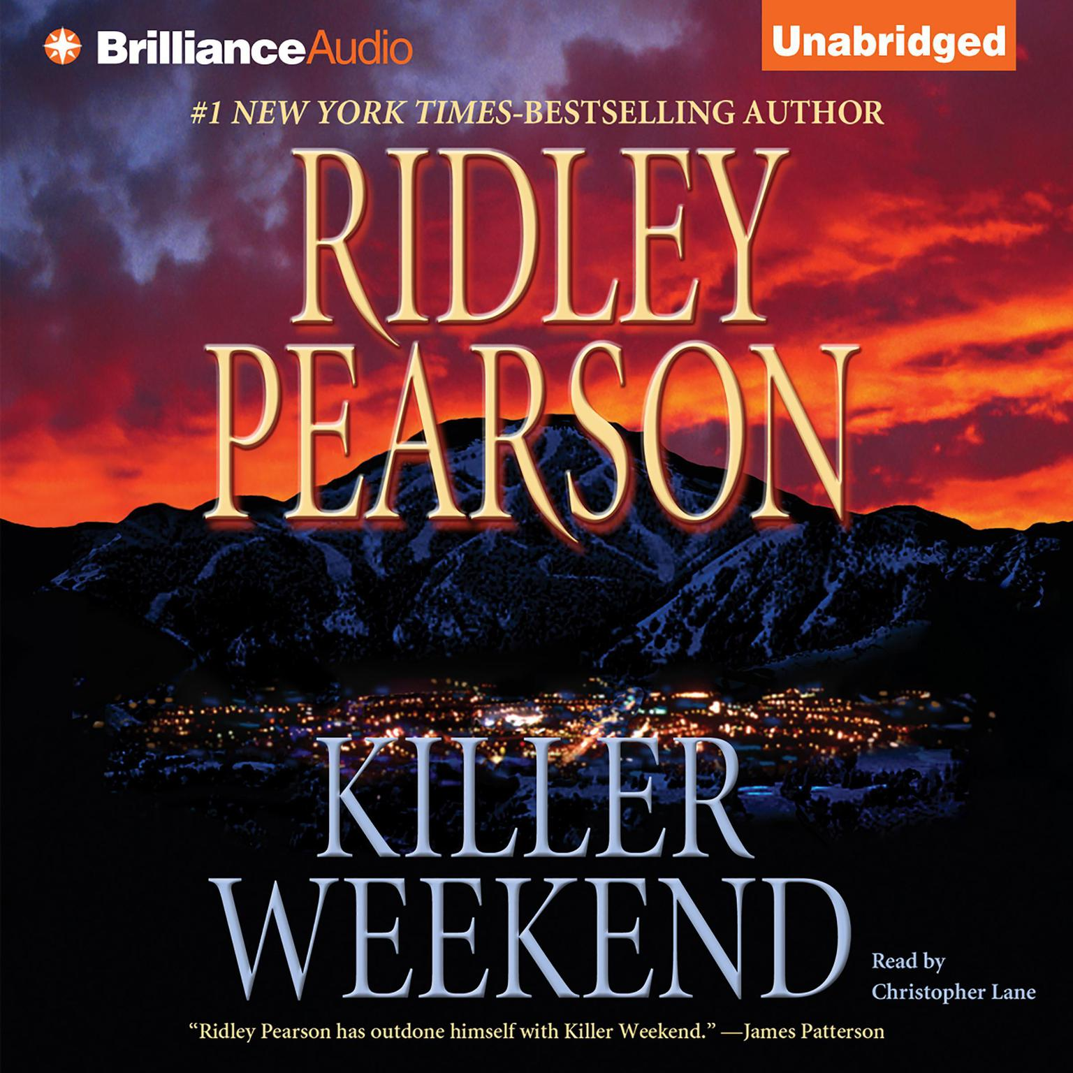 Printable Killer Weekend Audiobook Cover Art