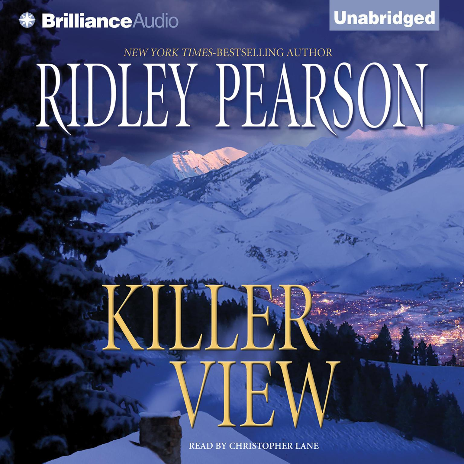Printable Killer View Audiobook Cover Art