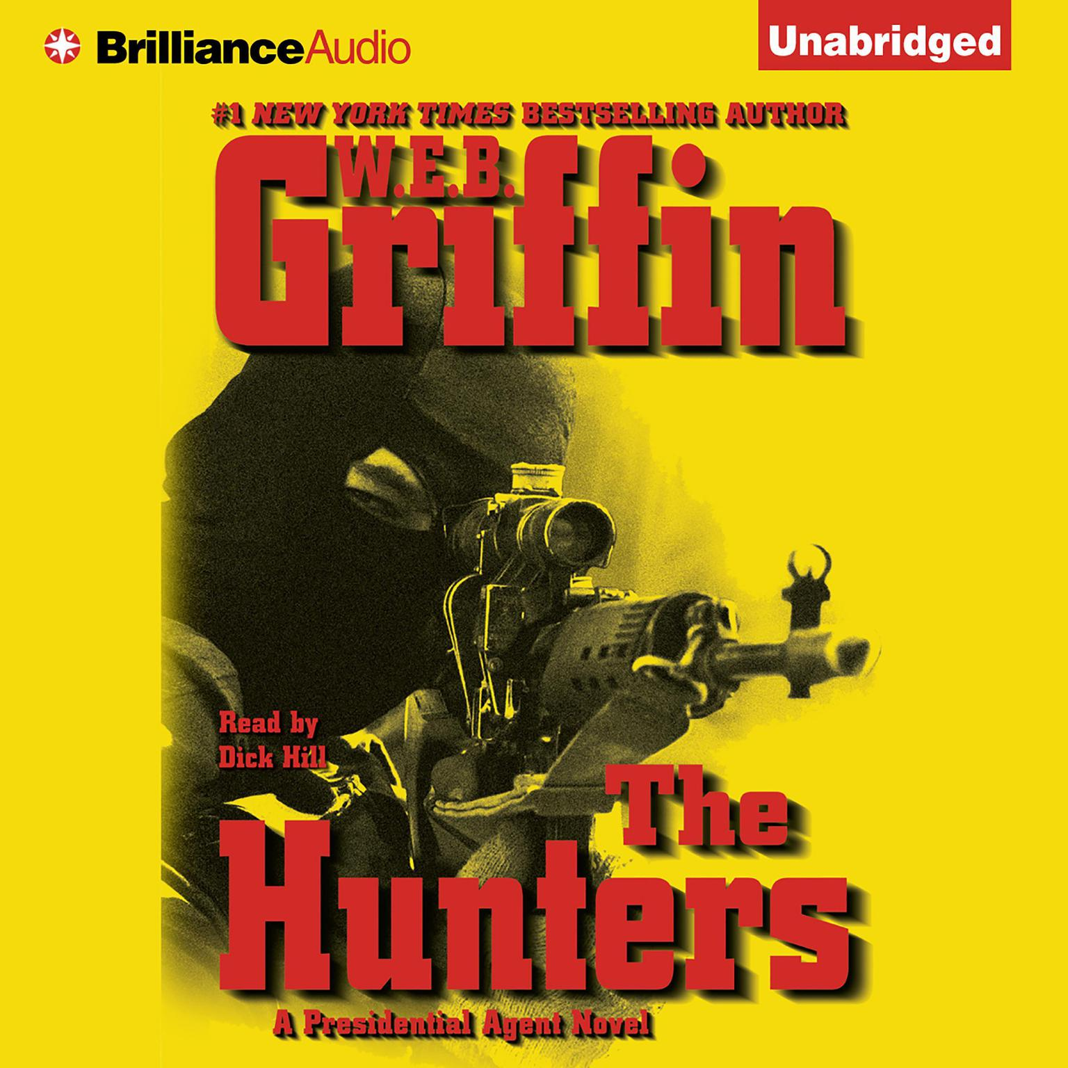 Printable The Hunters: A Presidential Agent Novel Audiobook Cover Art