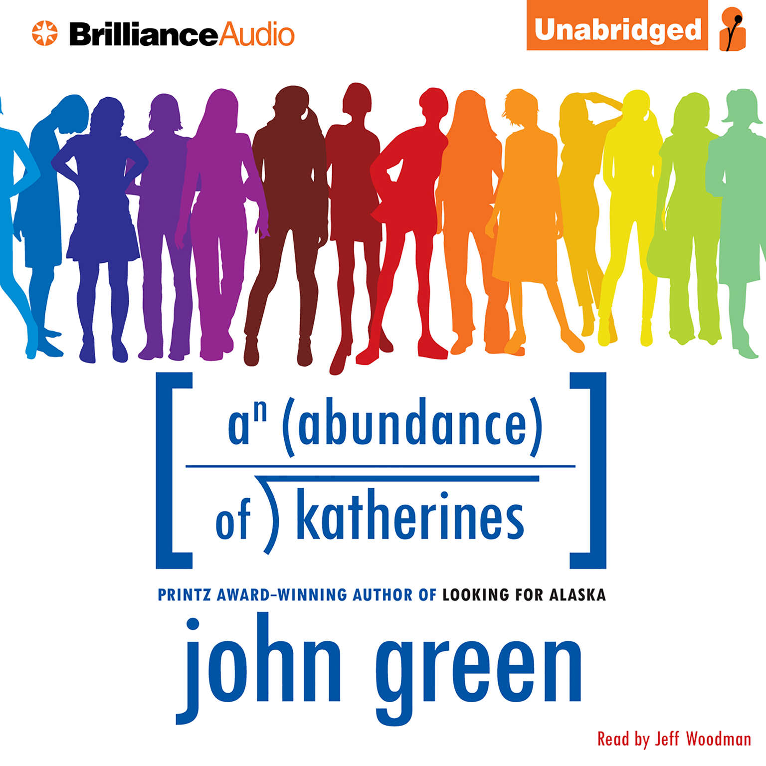 Printable An Abundance of Katherines Audiobook Cover Art