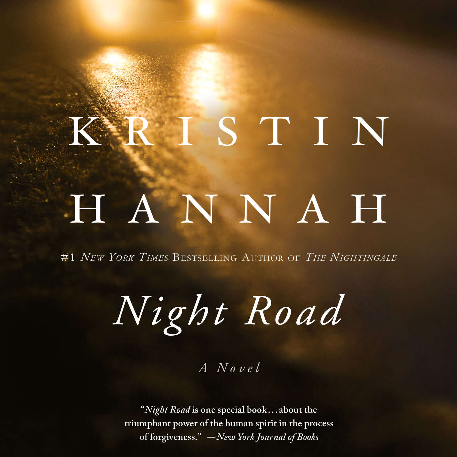 Printable Night Road Audiobook Cover Art