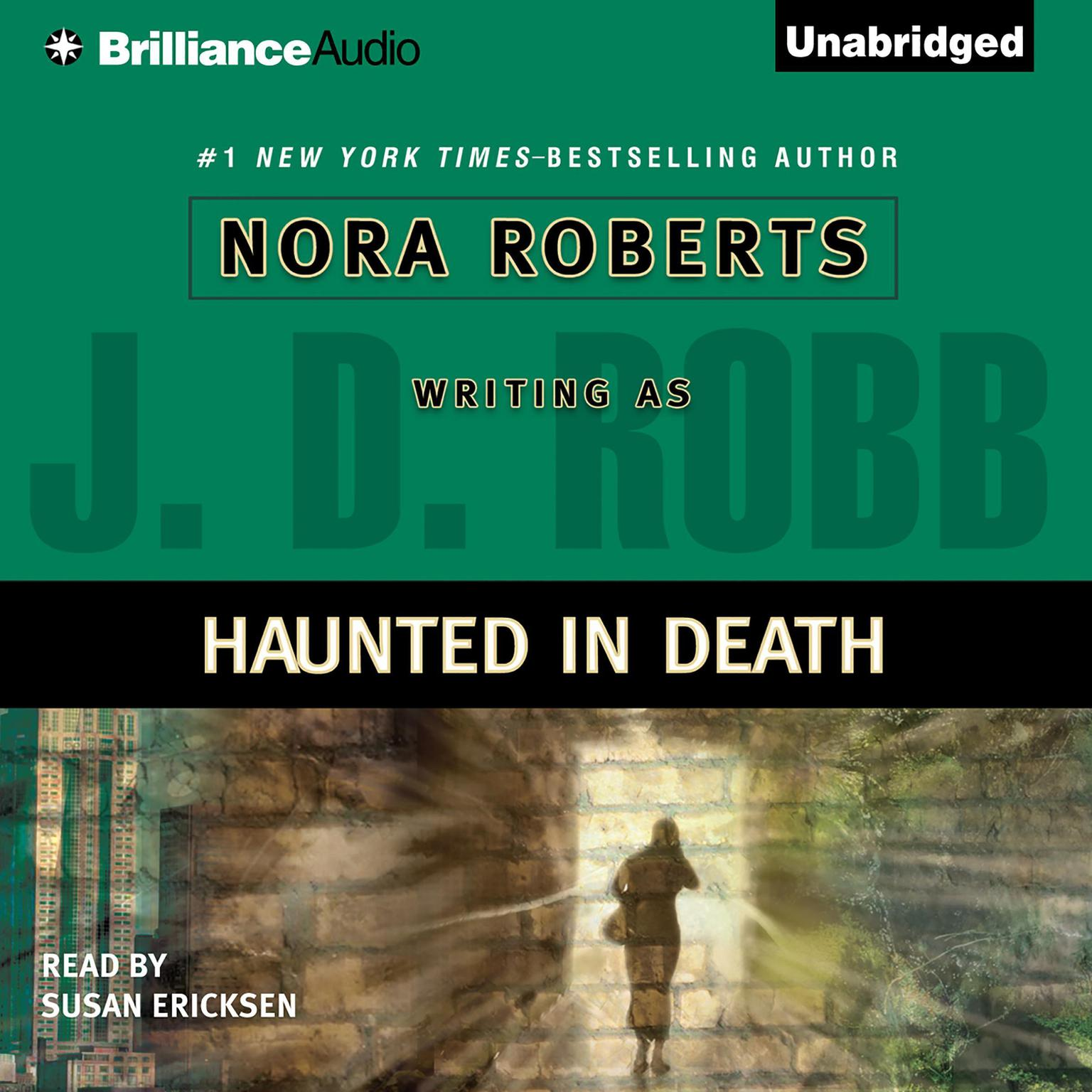 Printable Haunted in Death Audiobook Cover Art