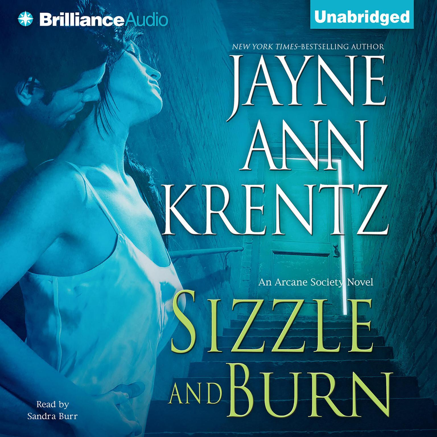 Printable Sizzle and Burn Audiobook Cover Art