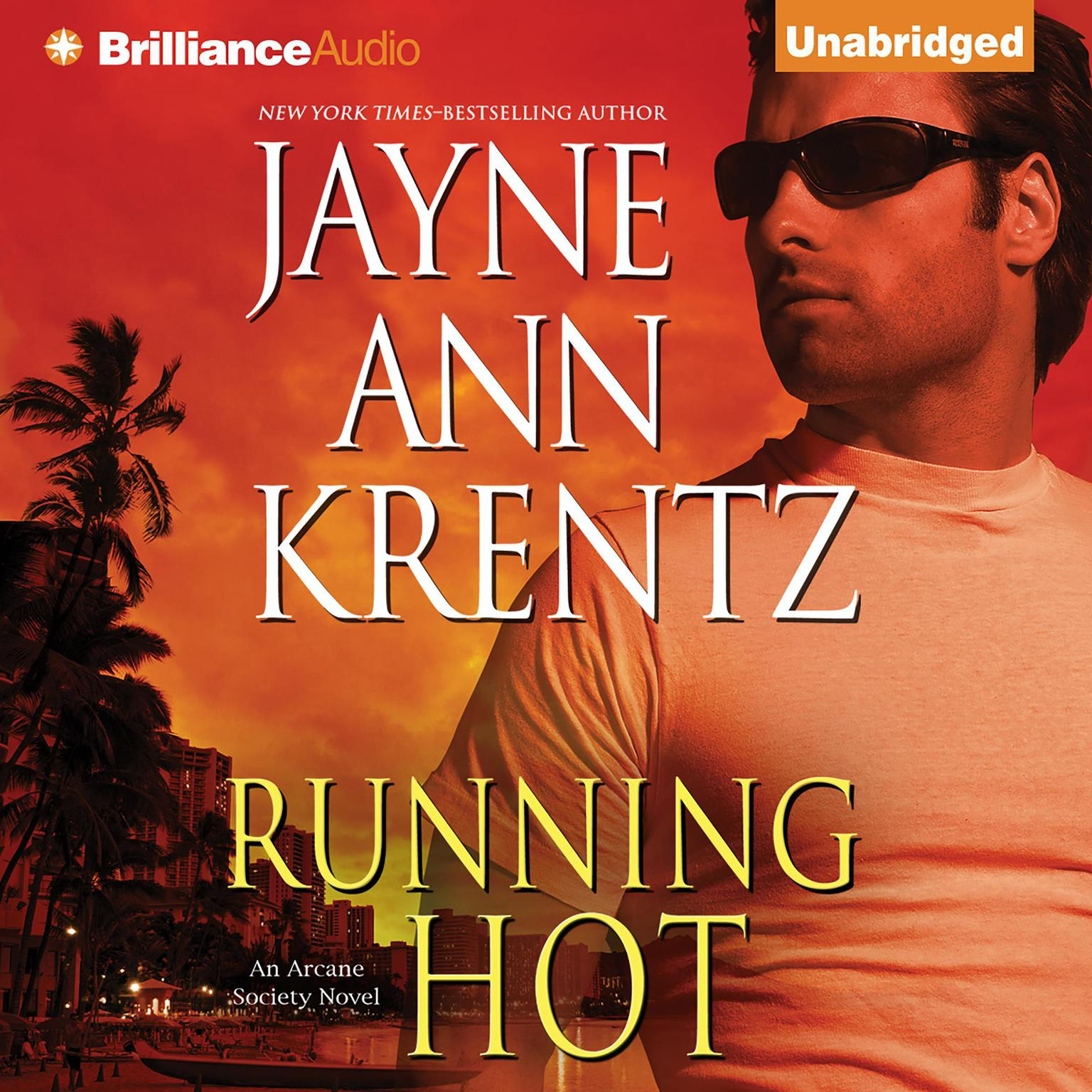 Printable Running Hot Audiobook Cover Art
