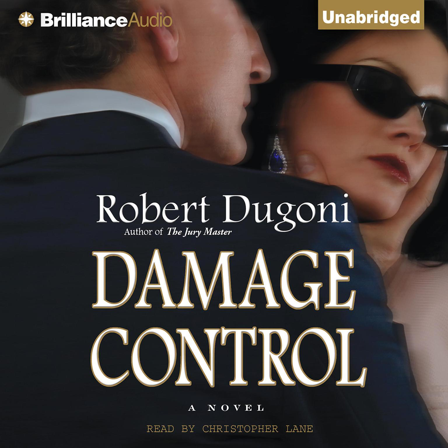 Printable Damage Control: A Novel Audiobook Cover Art