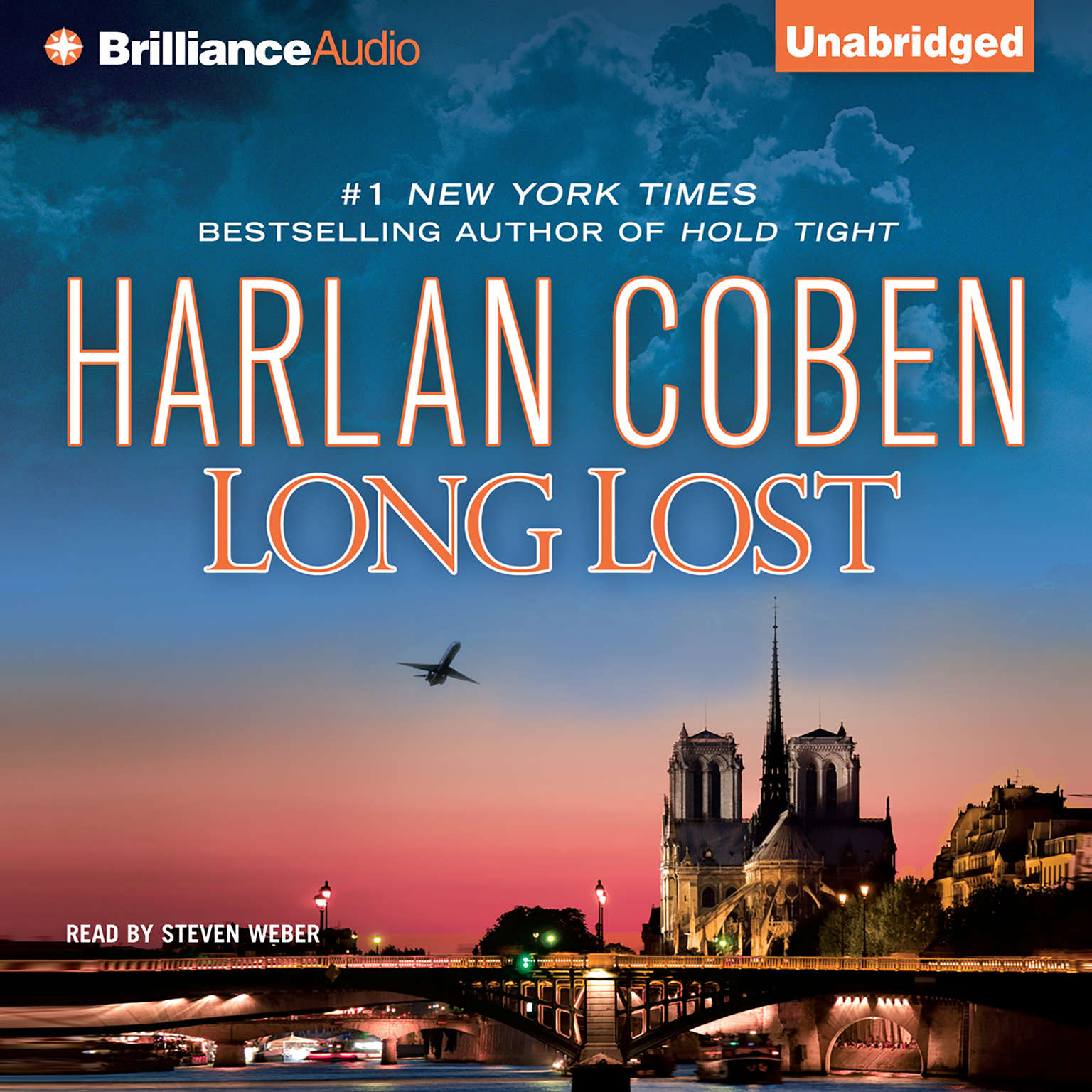 Printable Long Lost Audiobook Cover Art