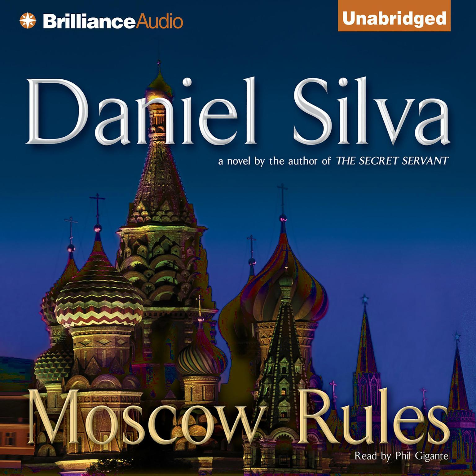 Printable Moscow Rules Audiobook Cover Art