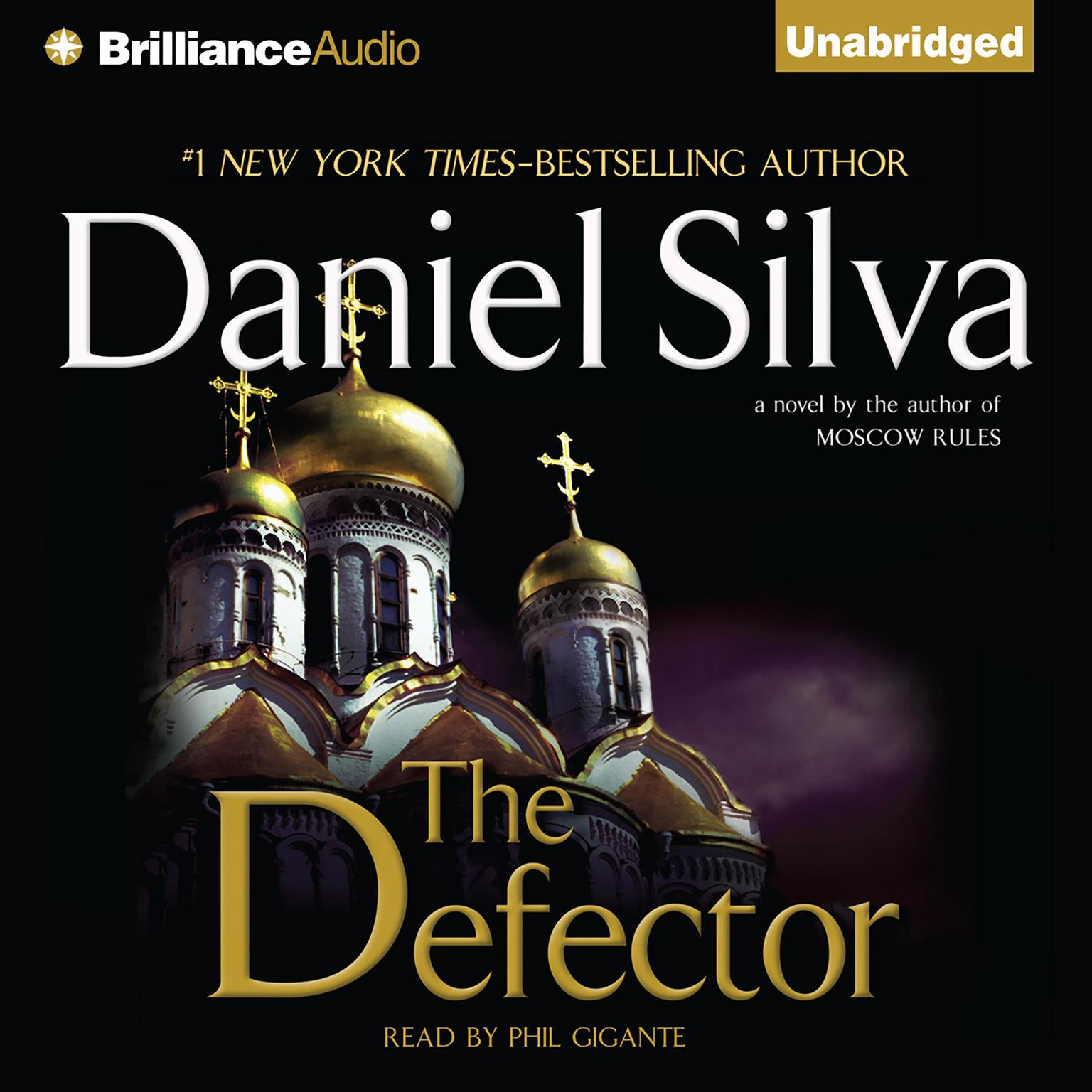 Printable The Defector Audiobook Cover Art