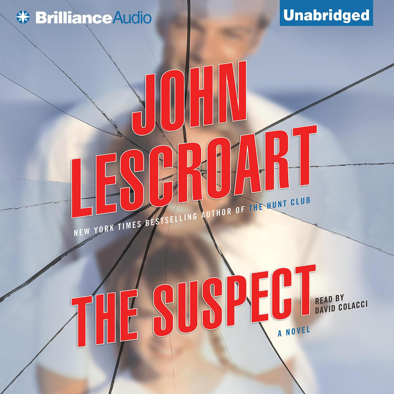 Printable The Suspect Audiobook Cover Art
