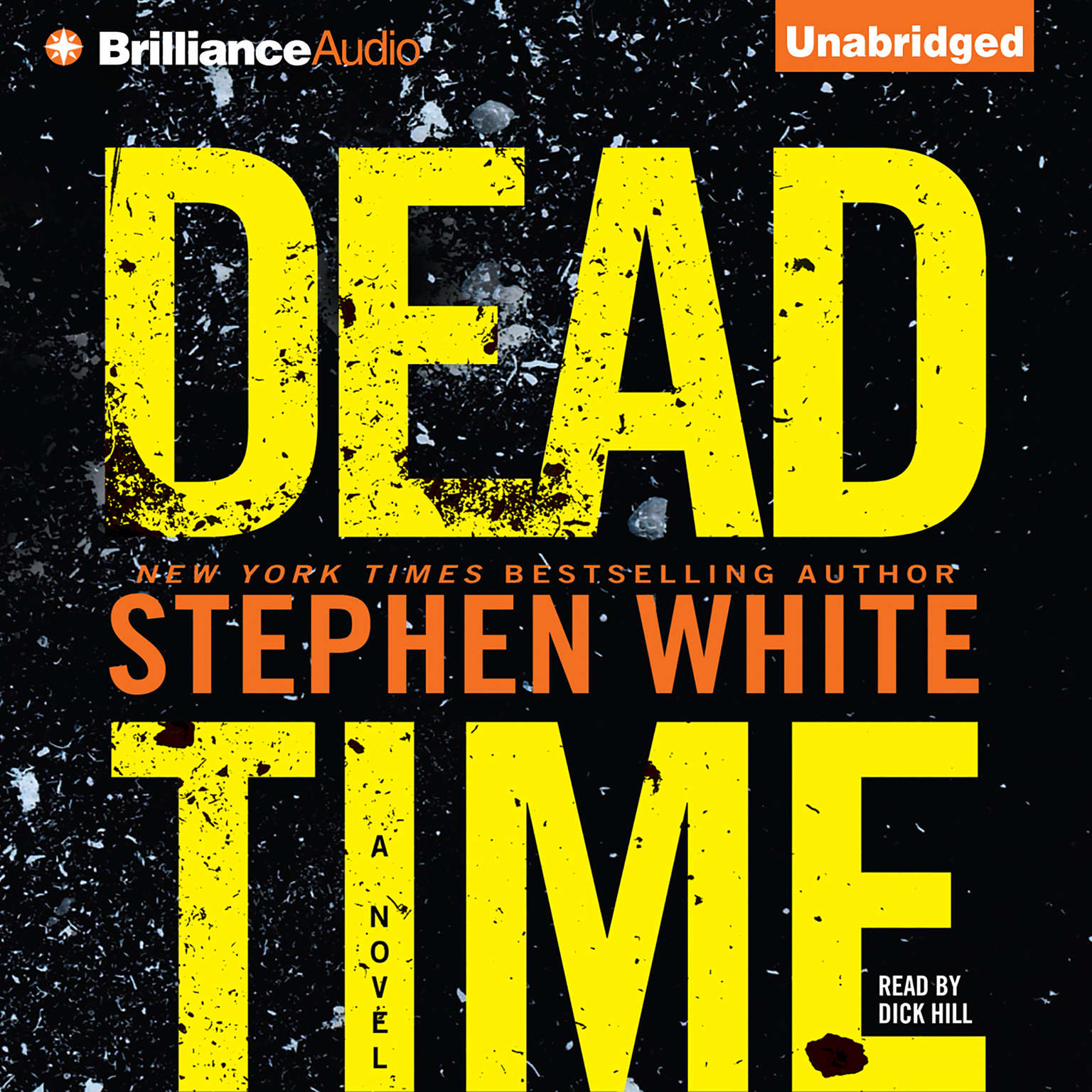 Printable Dead Time Audiobook Cover Art