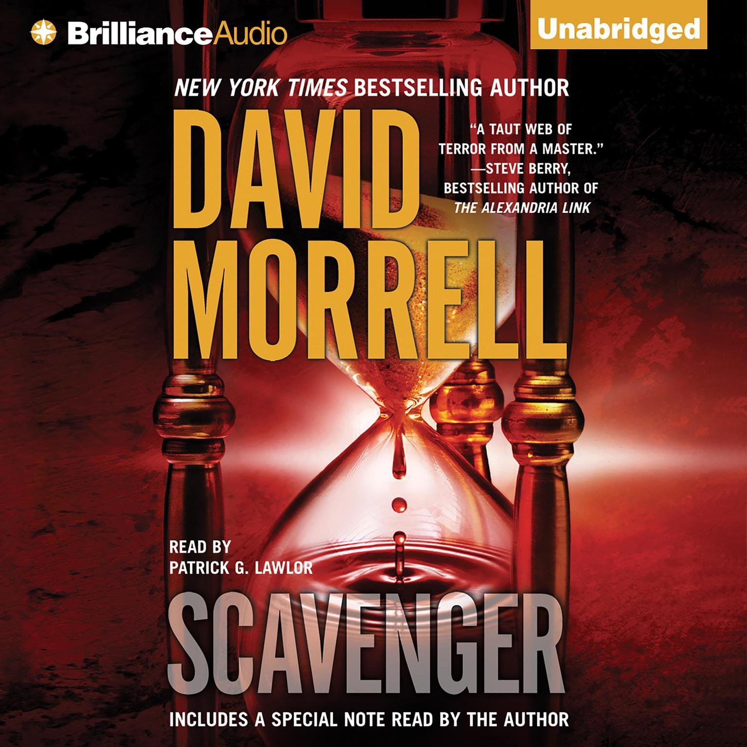 Printable Scavenger Audiobook Cover Art