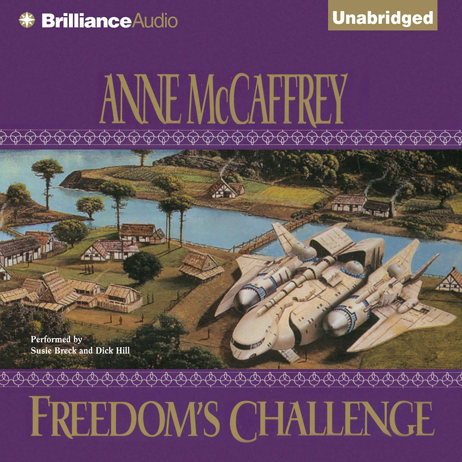 Printable Freedom's Challenge Audiobook Cover Art