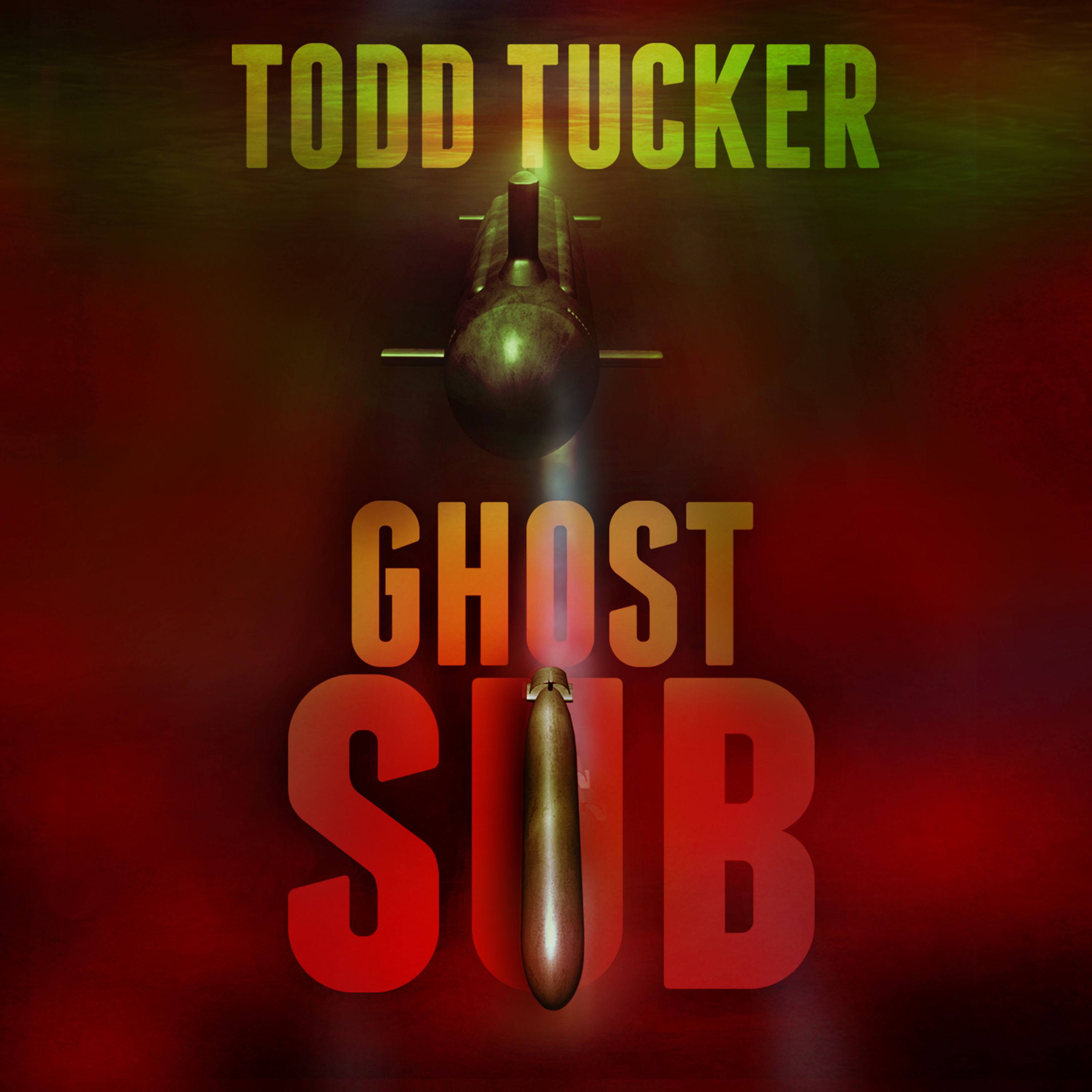 Printable Ghost Sub Audiobook Cover Art