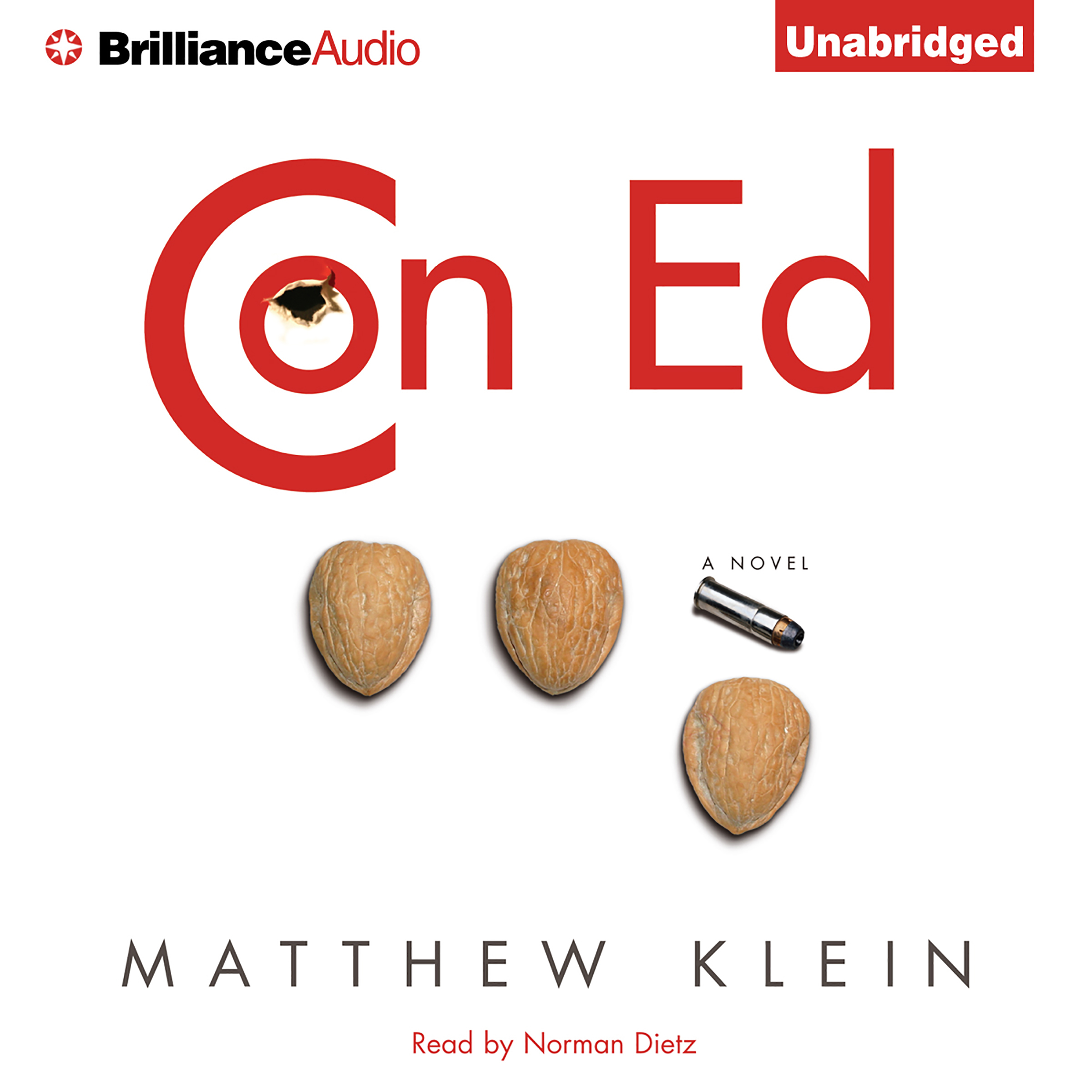 Printable Con Ed: A Novel Audiobook Cover Art