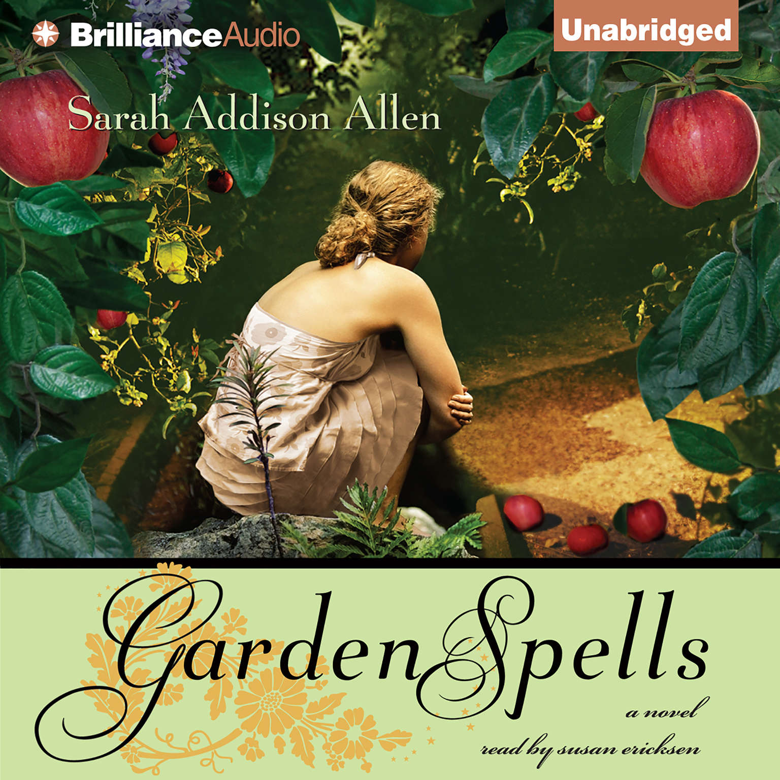 Printable Garden Spells Audiobook Cover Art