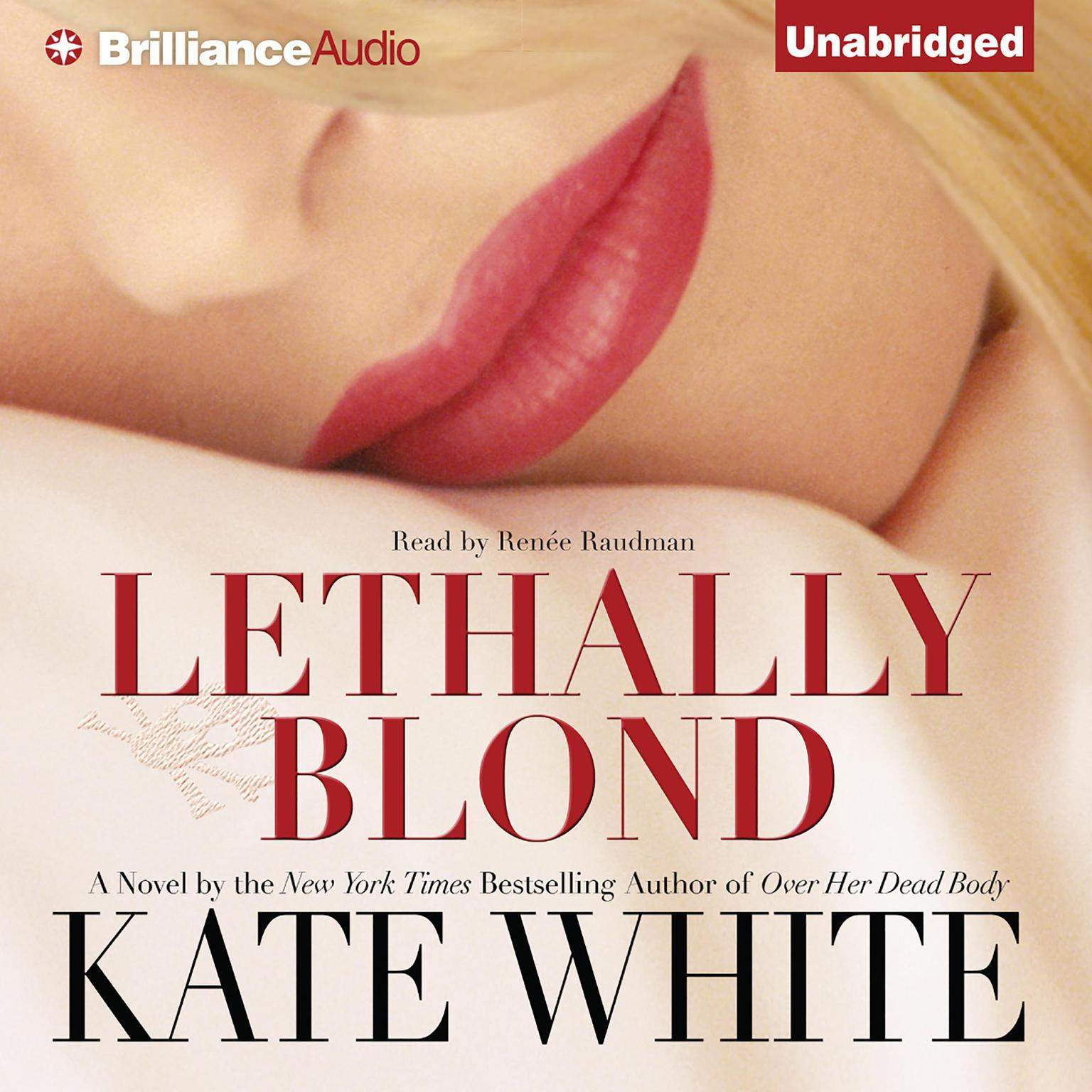 Printable Lethally Blond Audiobook Cover Art