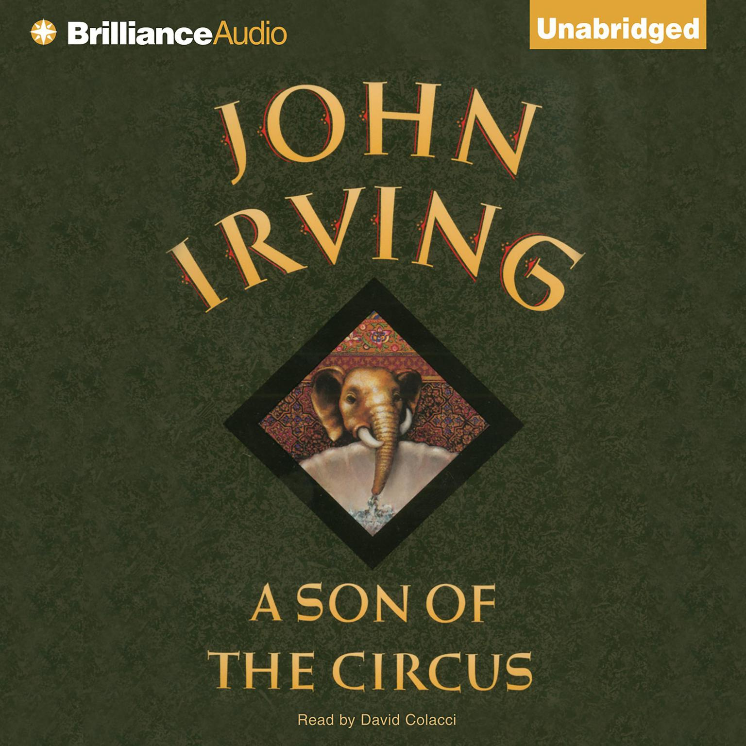 Printable A Son of the Circus Audiobook Cover Art