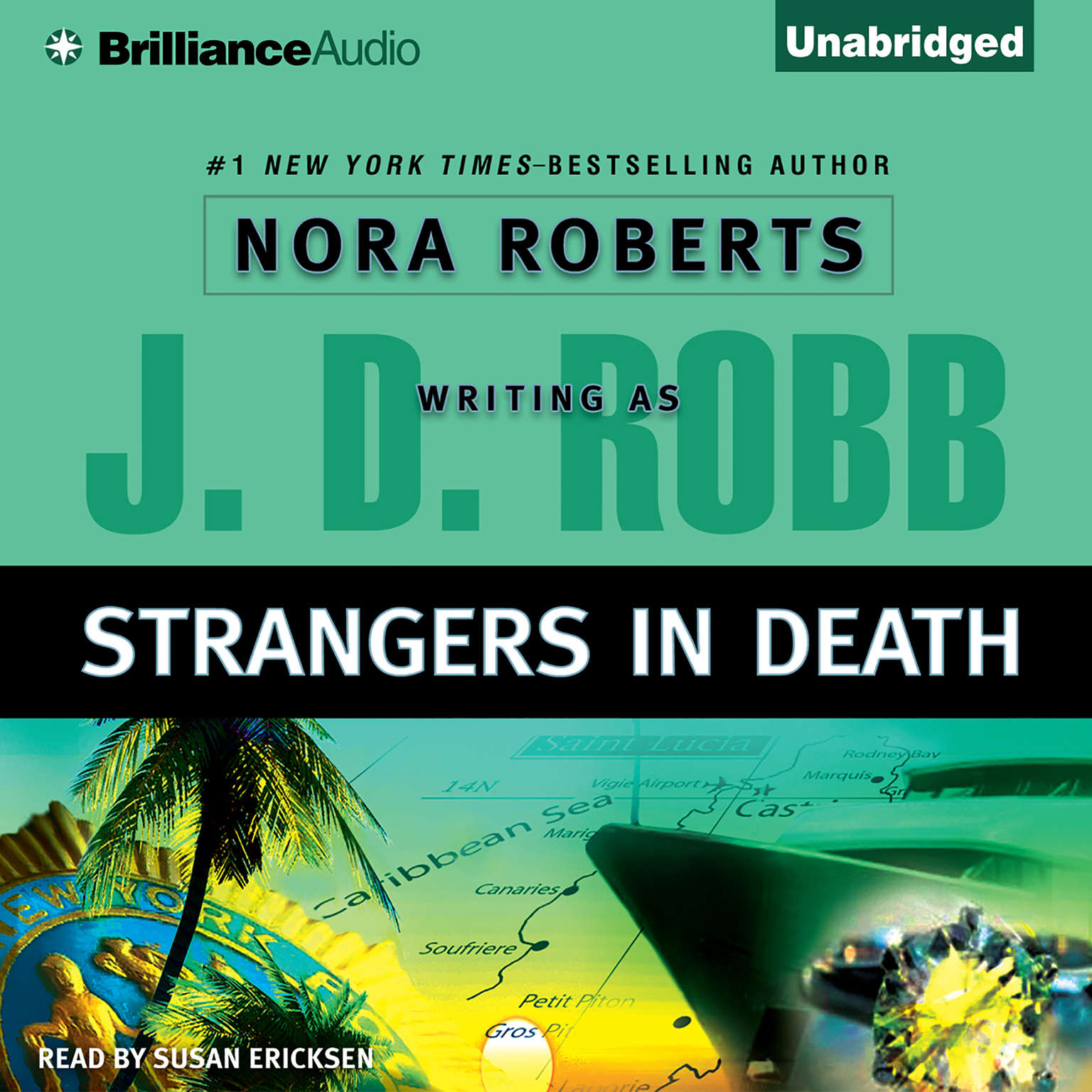 Printable Strangers in Death Audiobook Cover Art