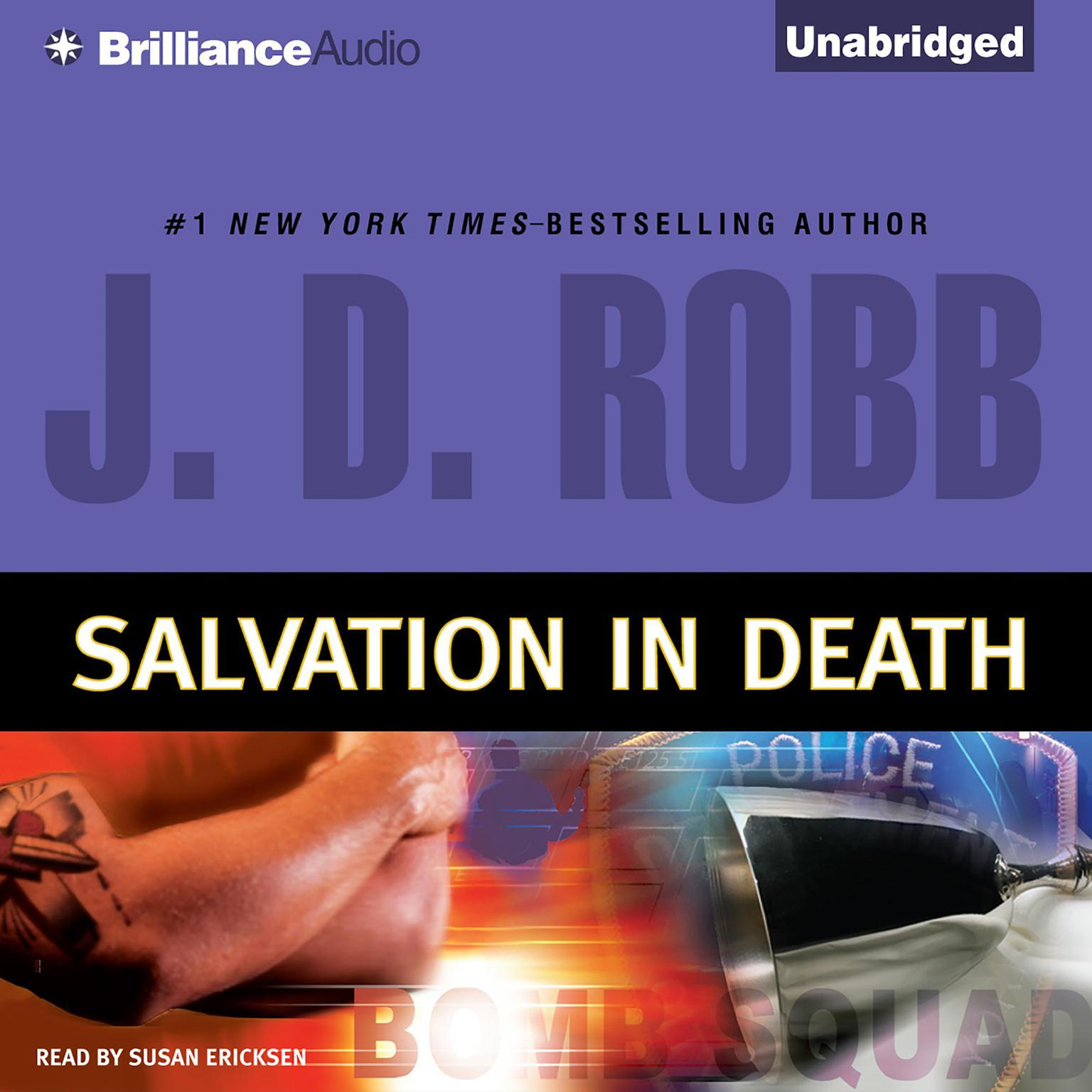 Printable Salvation in Death Audiobook Cover Art