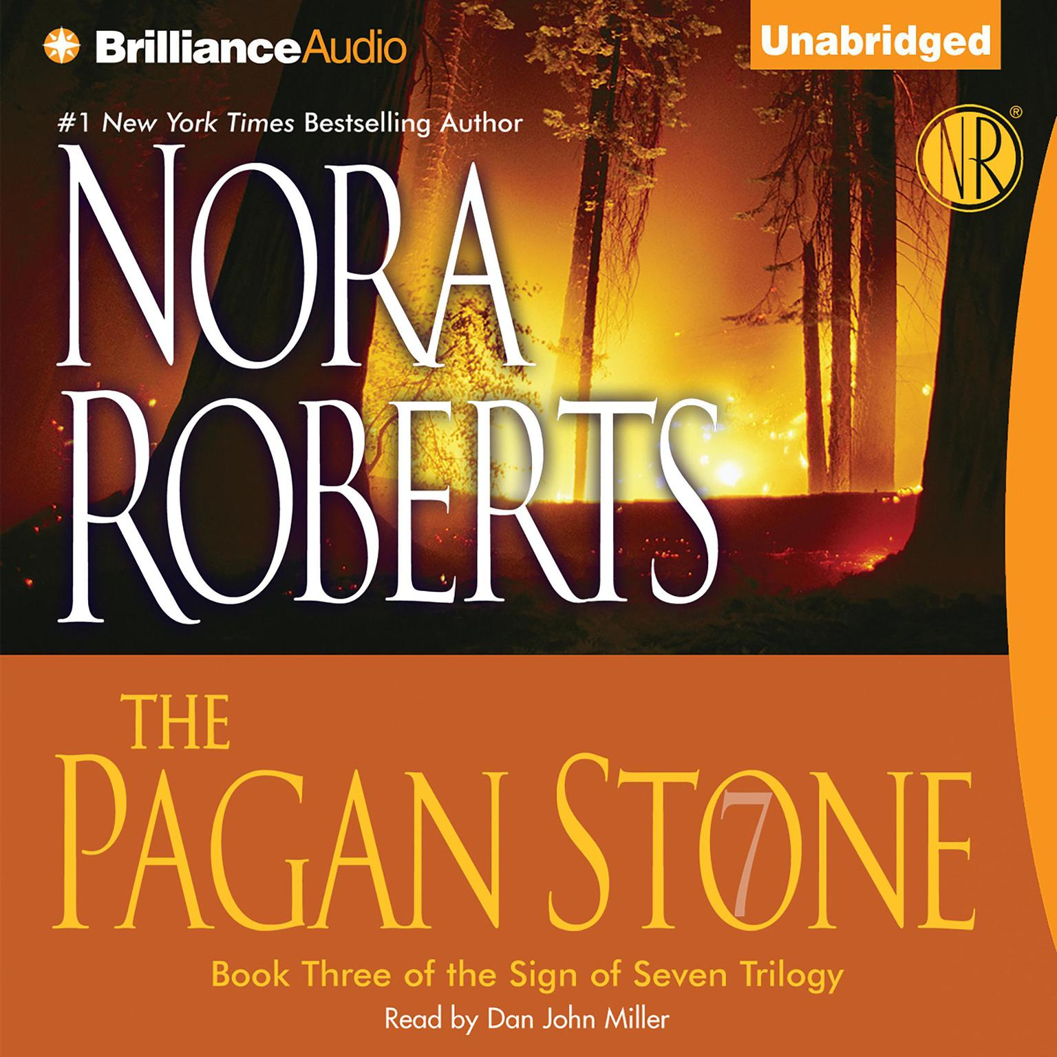 Printable The Pagan Stone Audiobook Cover Art