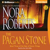 The Pagan Stone Audiobook, by Nora Roberts