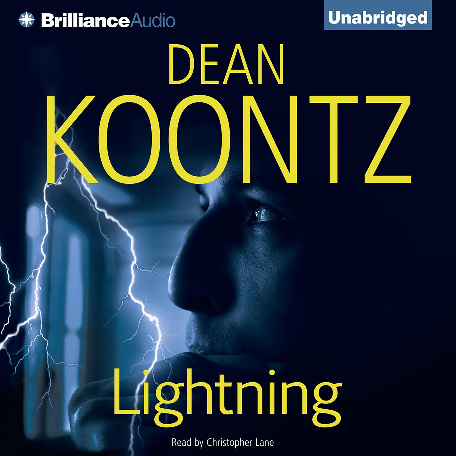 Printable Lightning Audiobook Cover Art