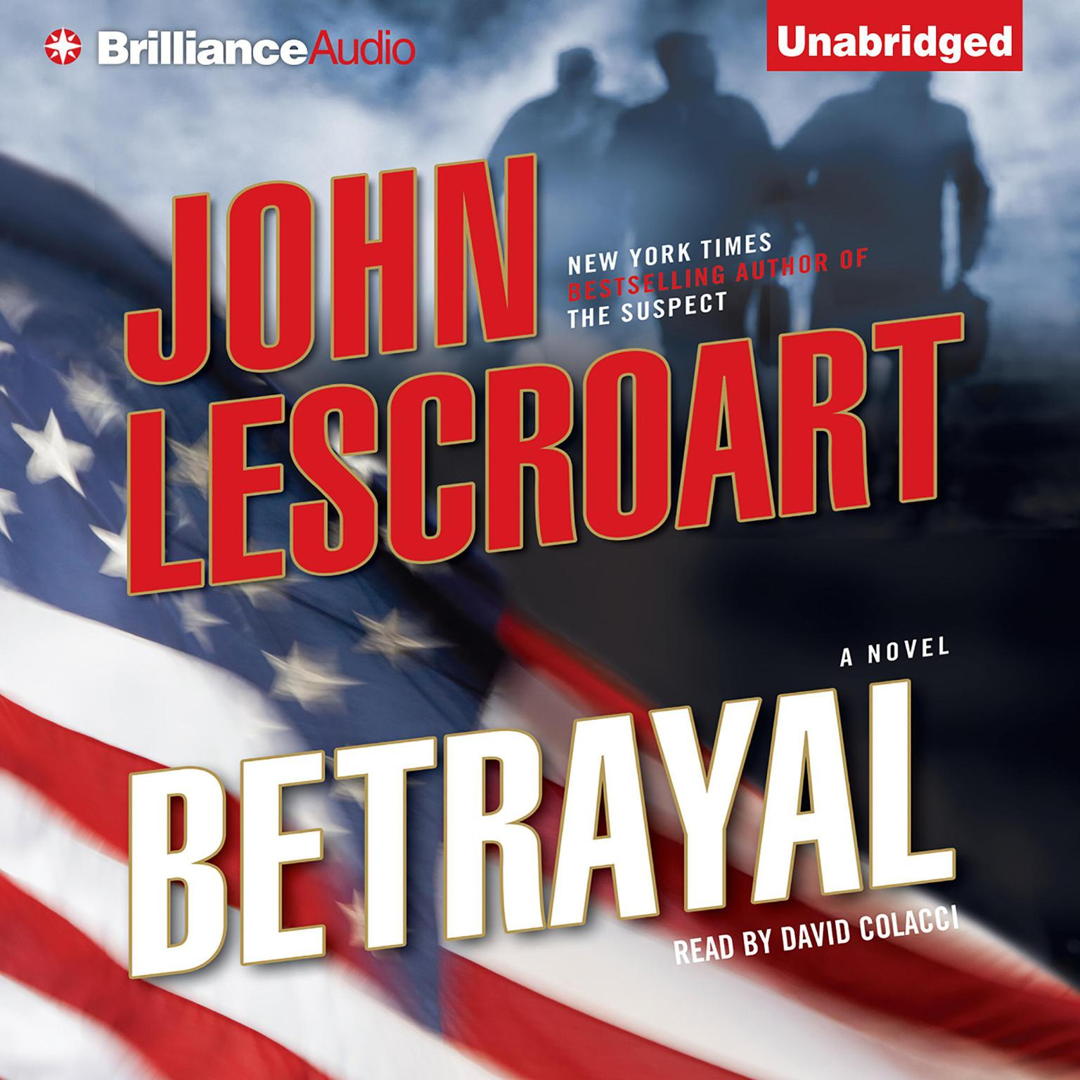 Printable Betrayal: A Novel Audiobook Cover Art