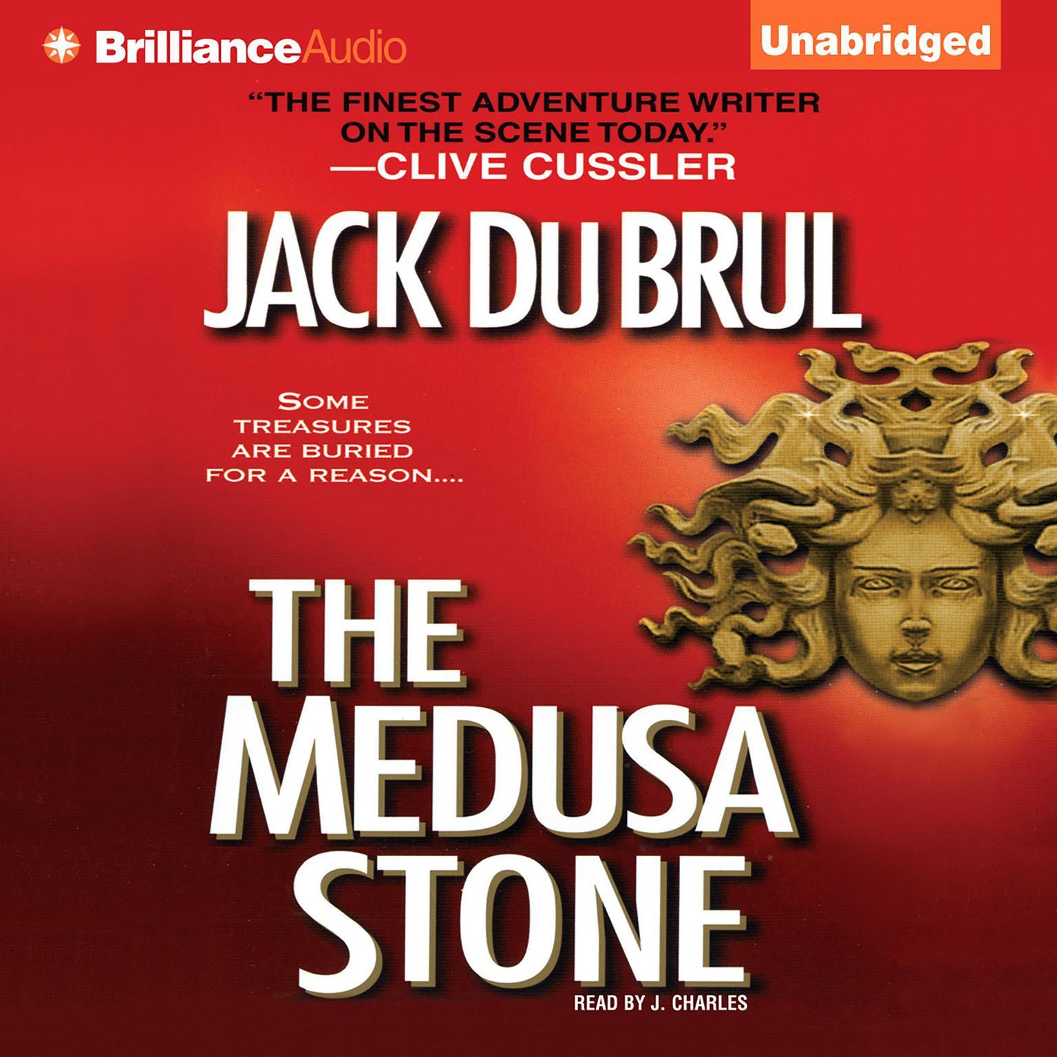 Printable The Medusa Stone Audiobook Cover Art