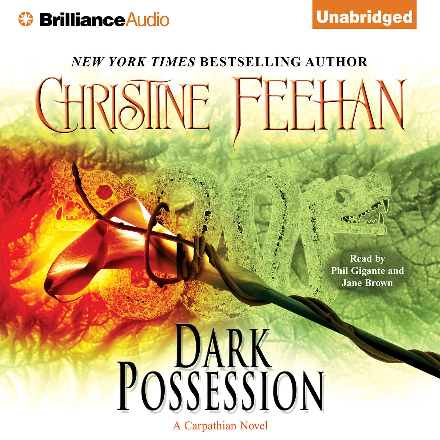 Printable Dark Possession Audiobook Cover Art