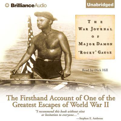 The War Journal of Major Damon Rocky Gause Audiobook, by Damon 'Rocky' Gause