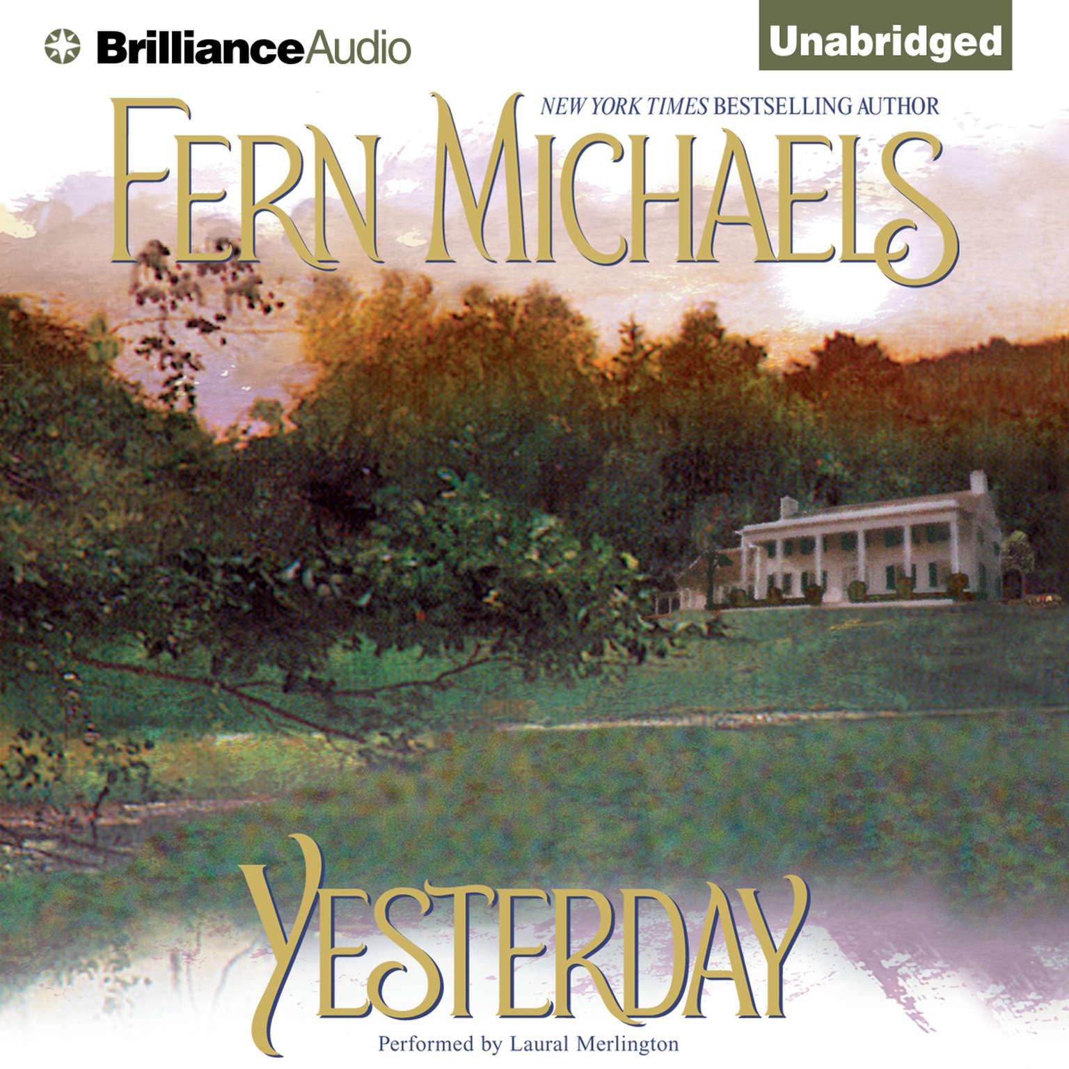 Printable Yesterday Audiobook Cover Art
