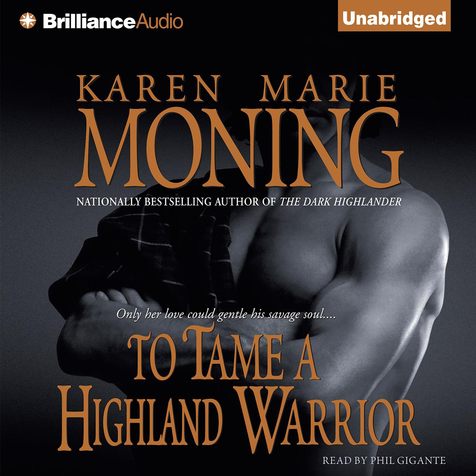 Printable To Tame a Highland Warrior Audiobook Cover Art