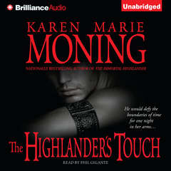 The Highlanders Touch Audiobook, by Karen Marie Moning