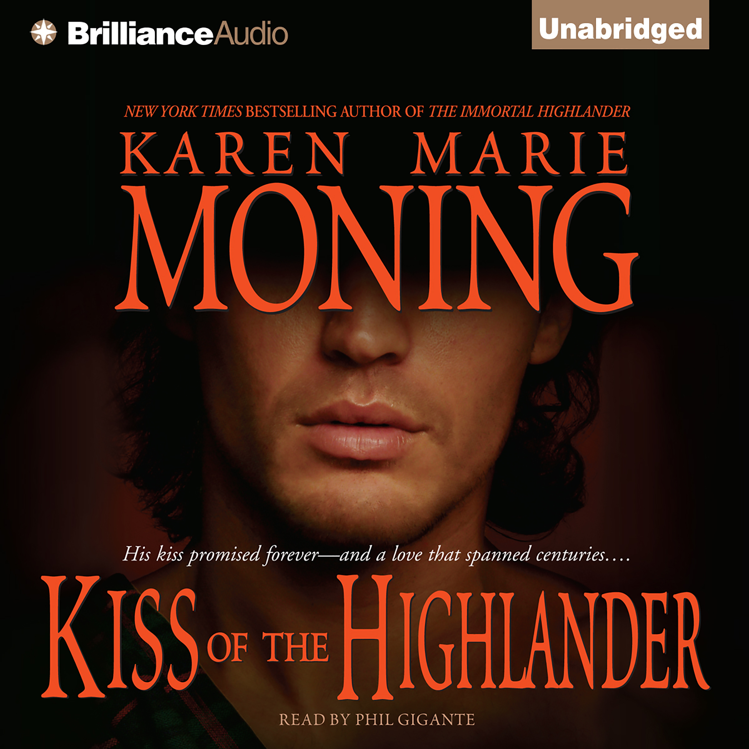 Printable Kiss of the Highlander Audiobook Cover Art