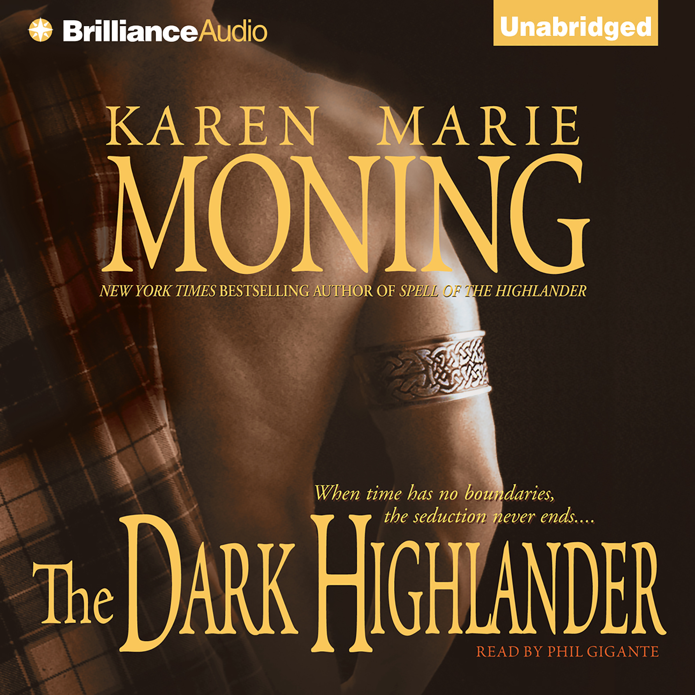 Printable The Dark Highlander Audiobook Cover Art