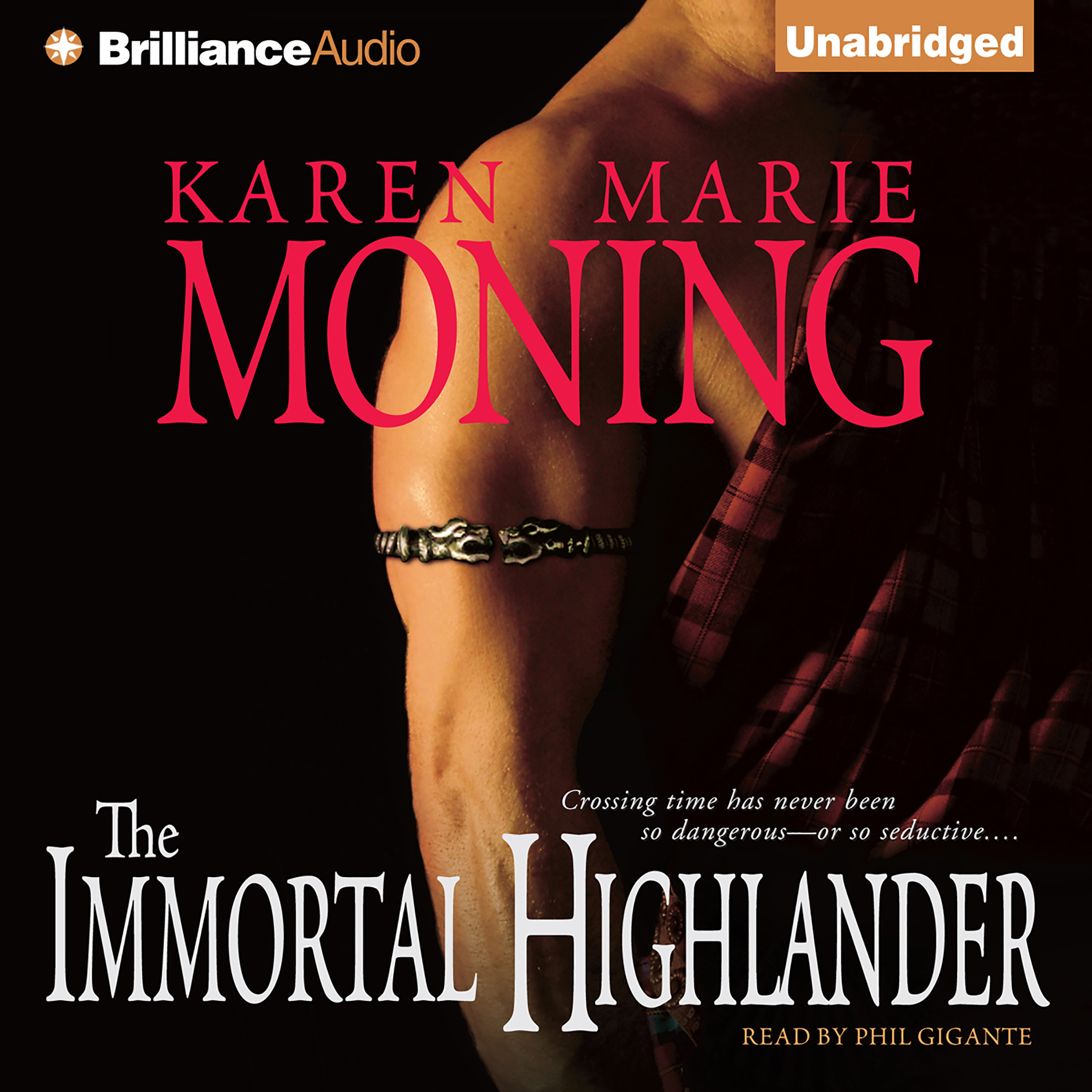 Printable The Immortal Highlander Audiobook Cover Art