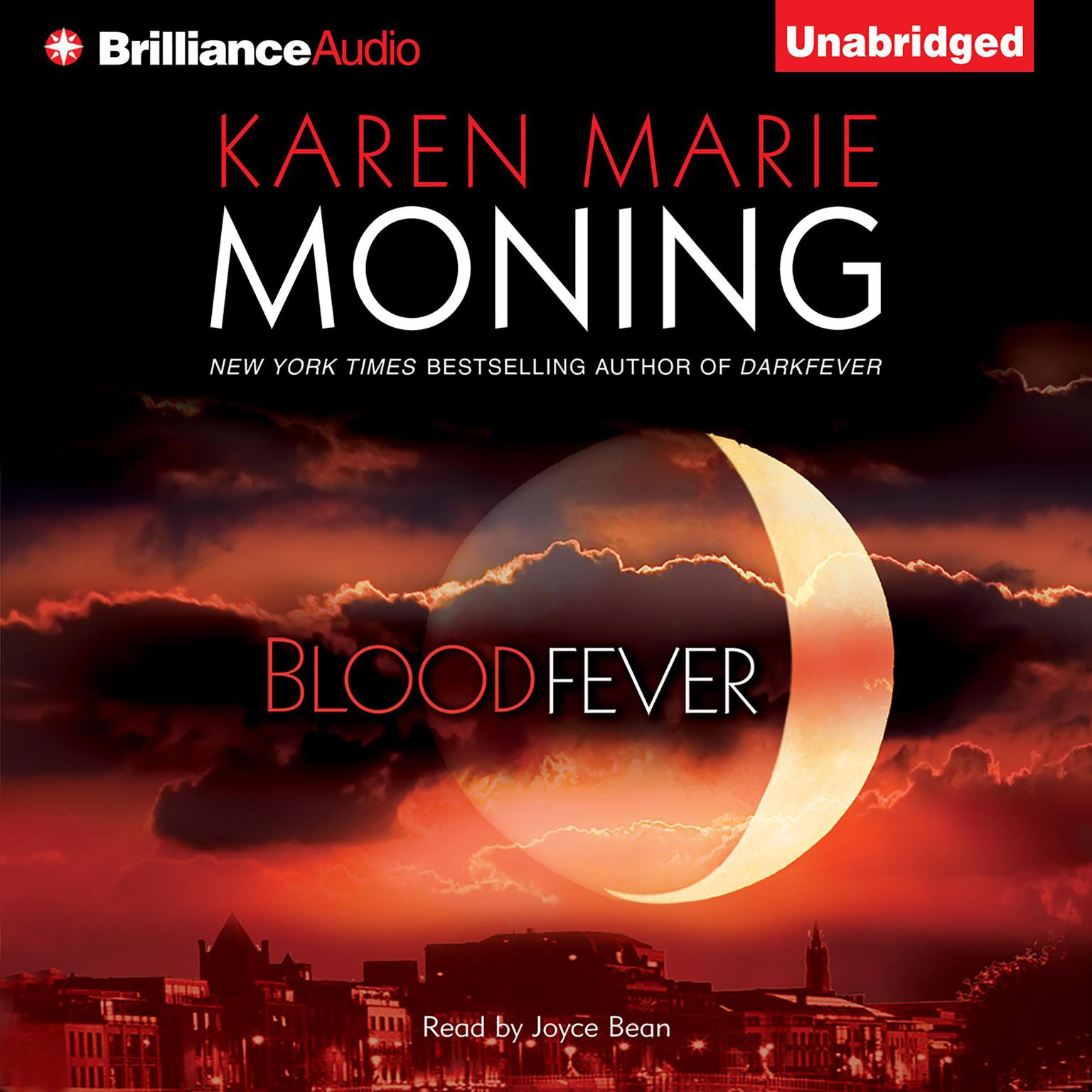 Printable Bloodfever Audiobook Cover Art