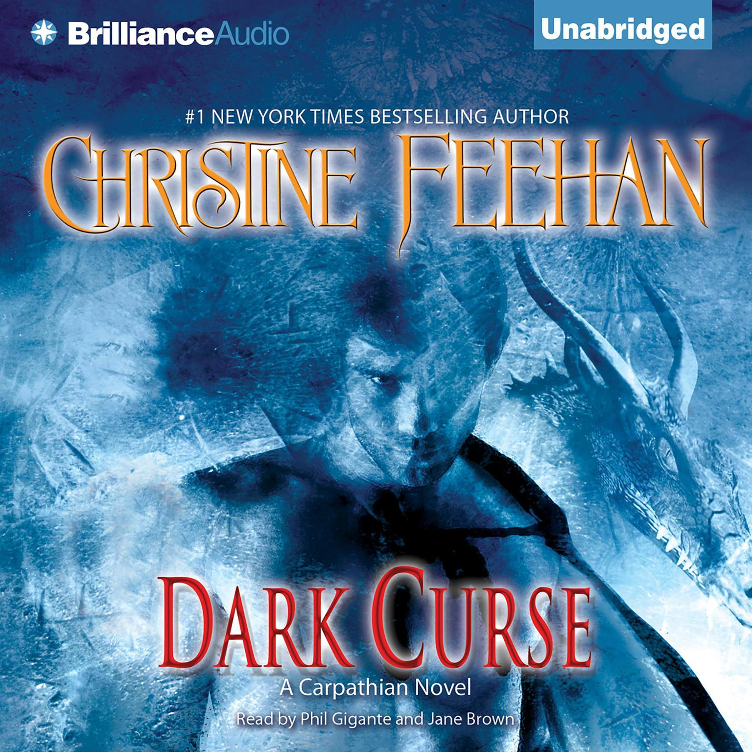 Printable Dark Curse: A Carpathian Novel Audiobook Cover Art