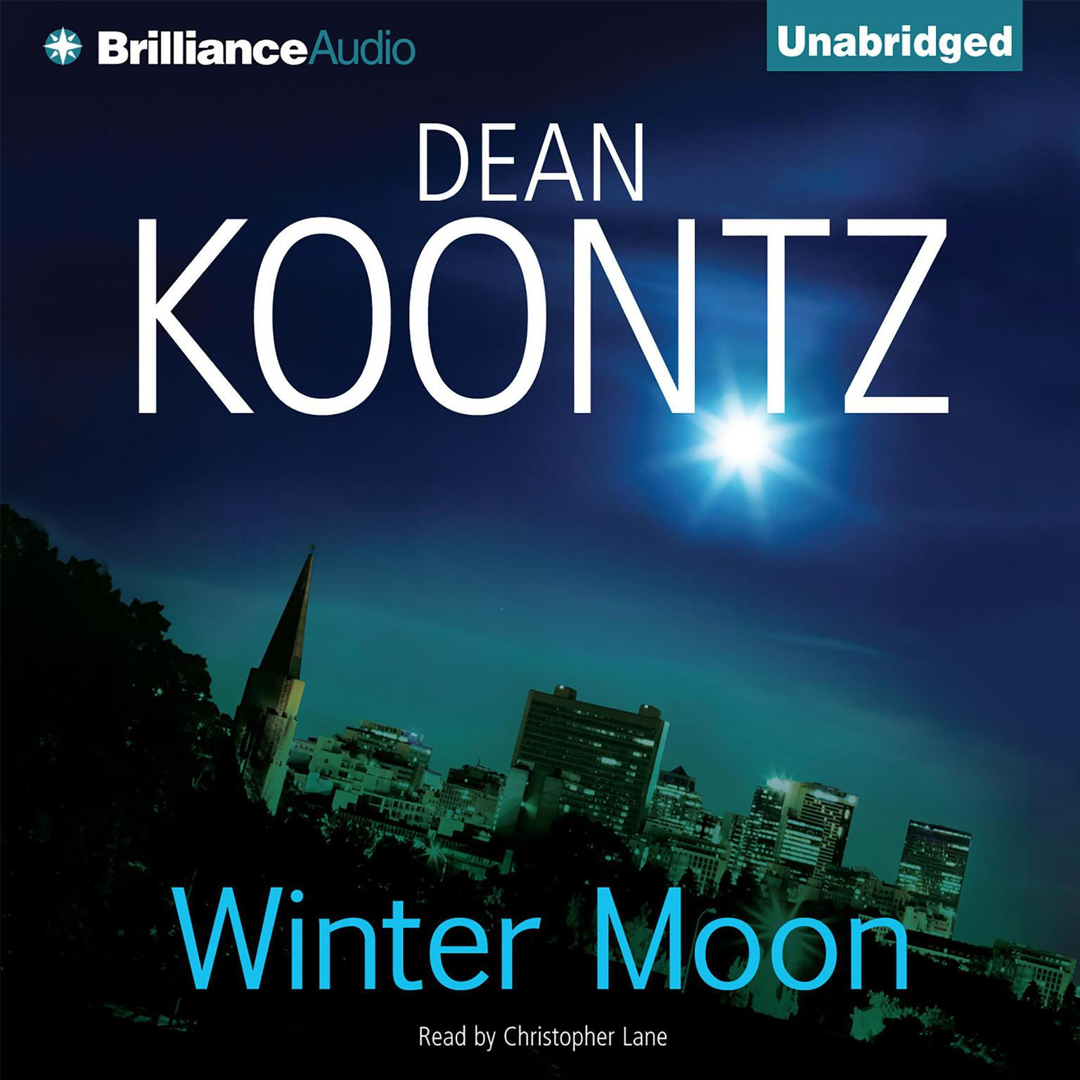 Printable Winter Moon Audiobook Cover Art