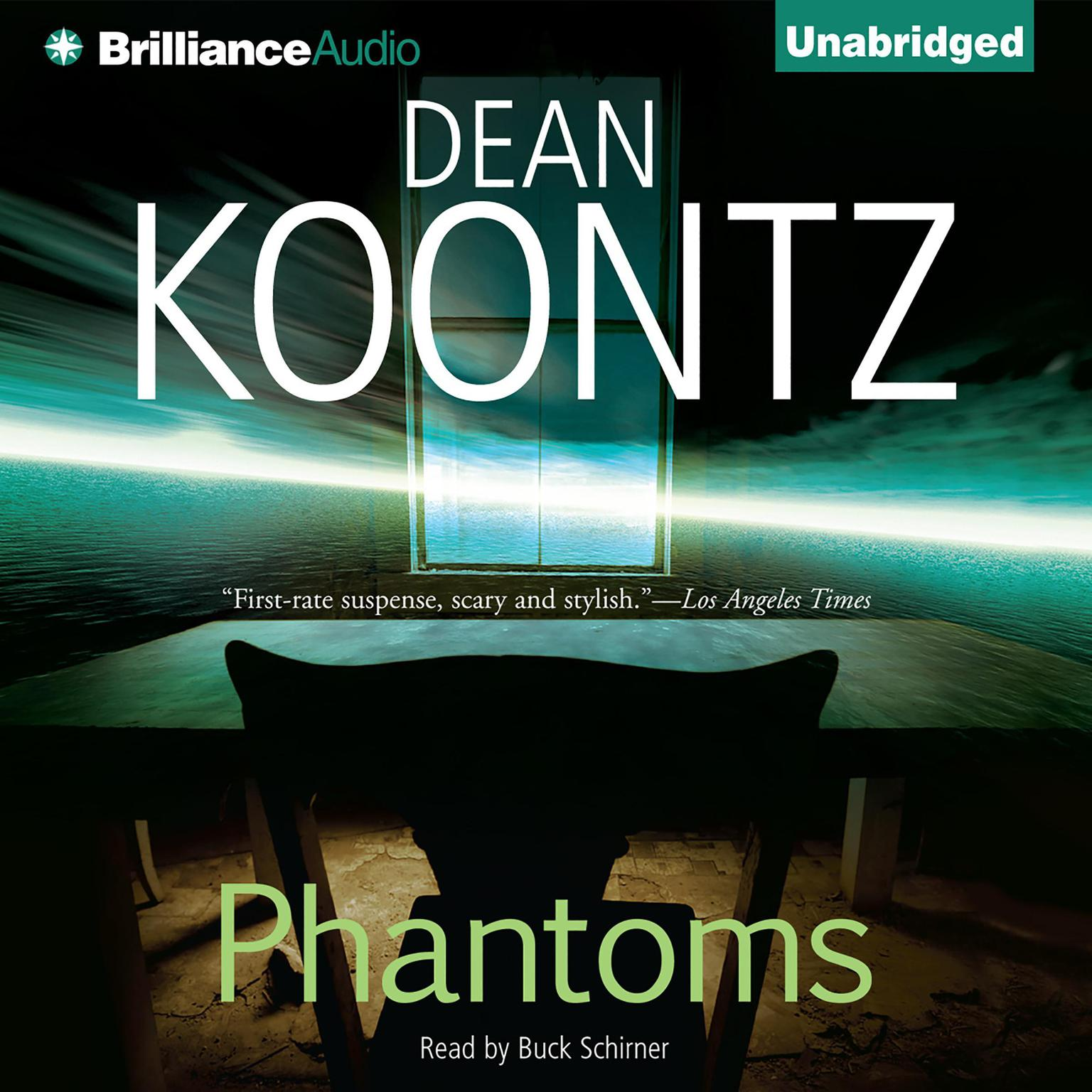 Printable Phantoms Audiobook Cover Art